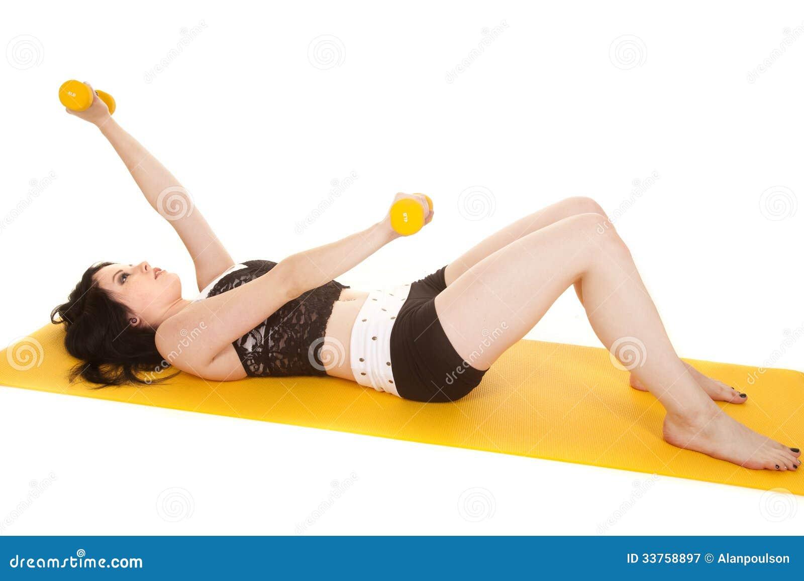 Fraueneignungsgelbmatten-Lagegewichte
