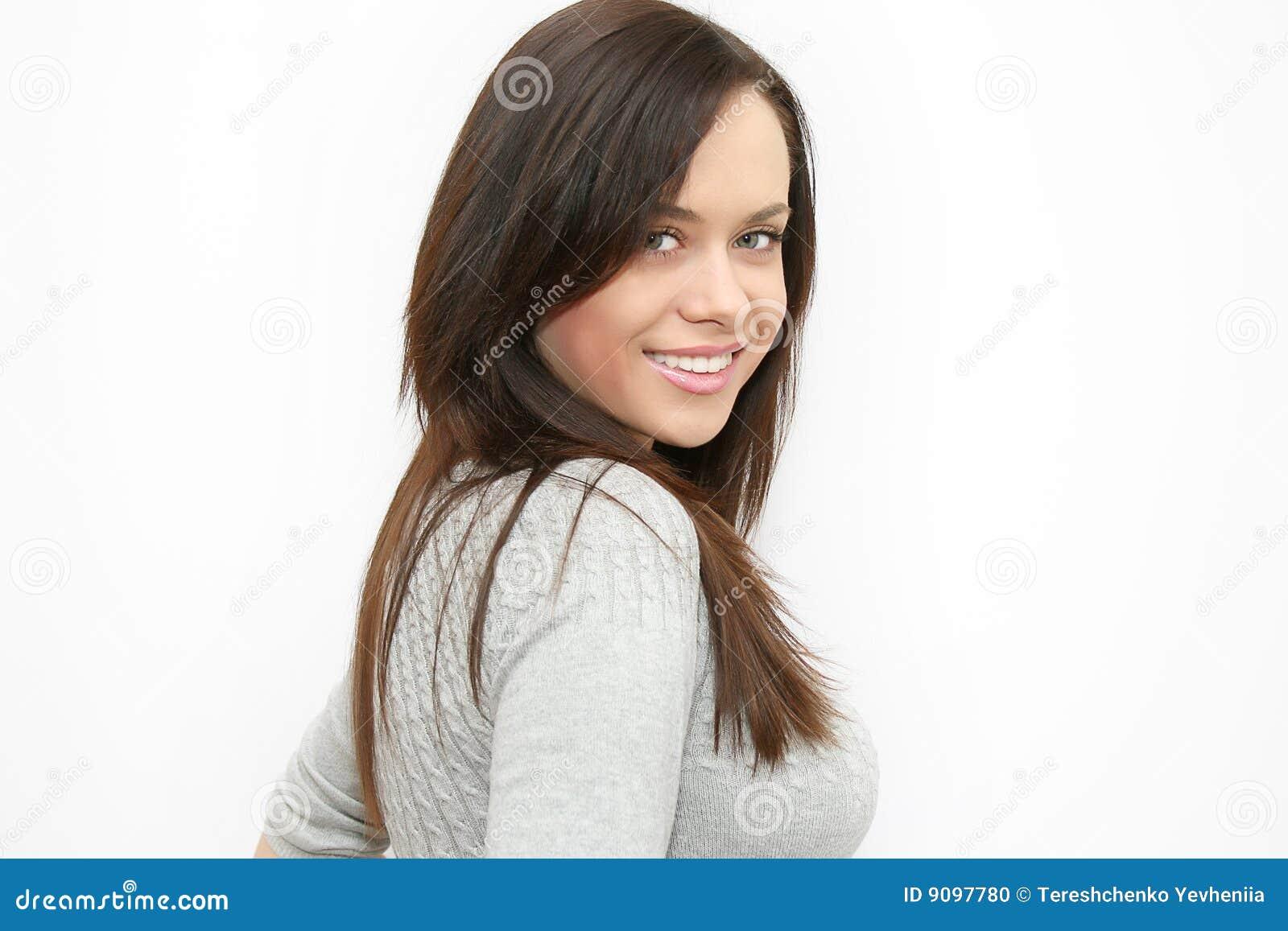 Frauenlächeln