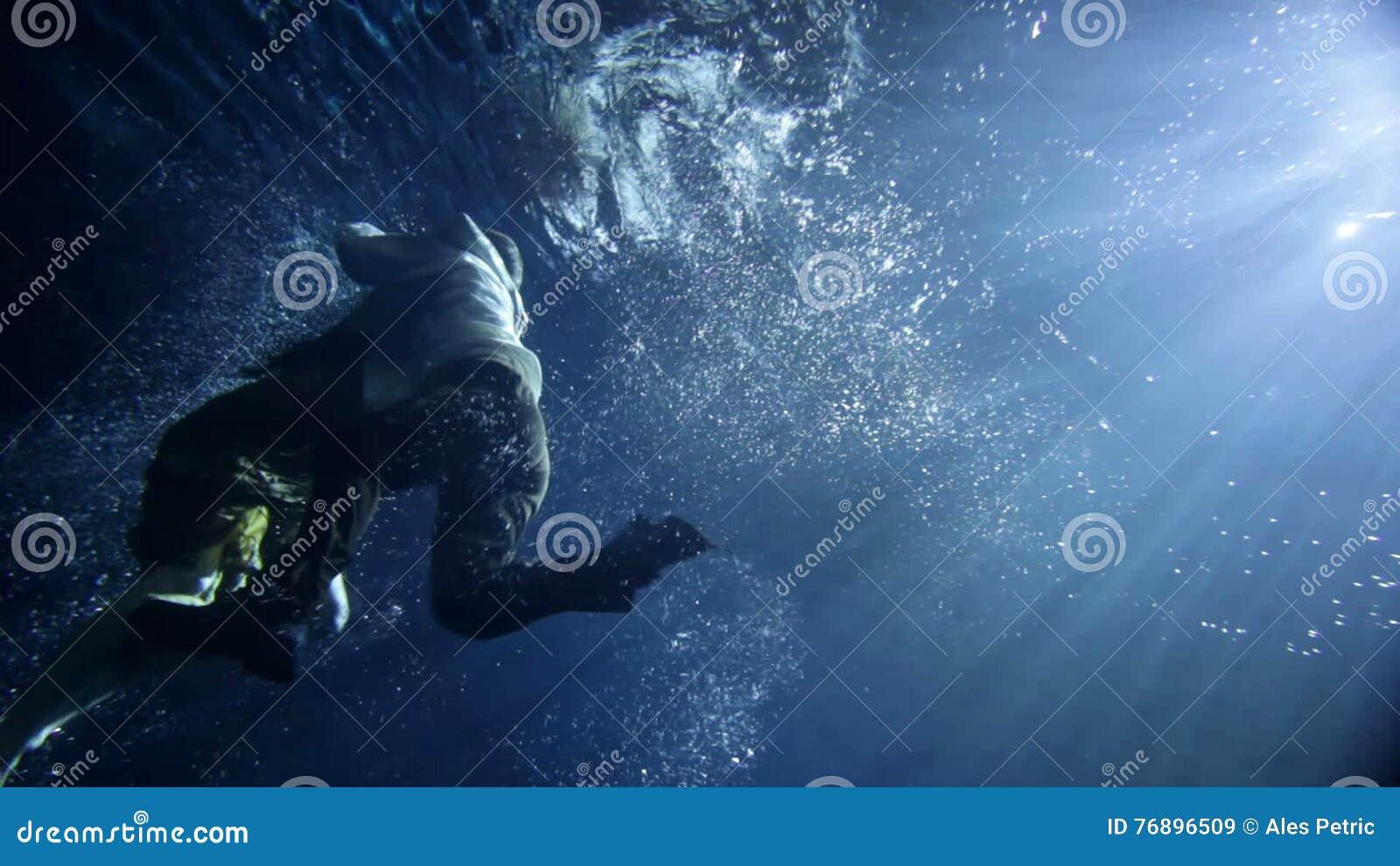 Klamotten schwimmen gehen