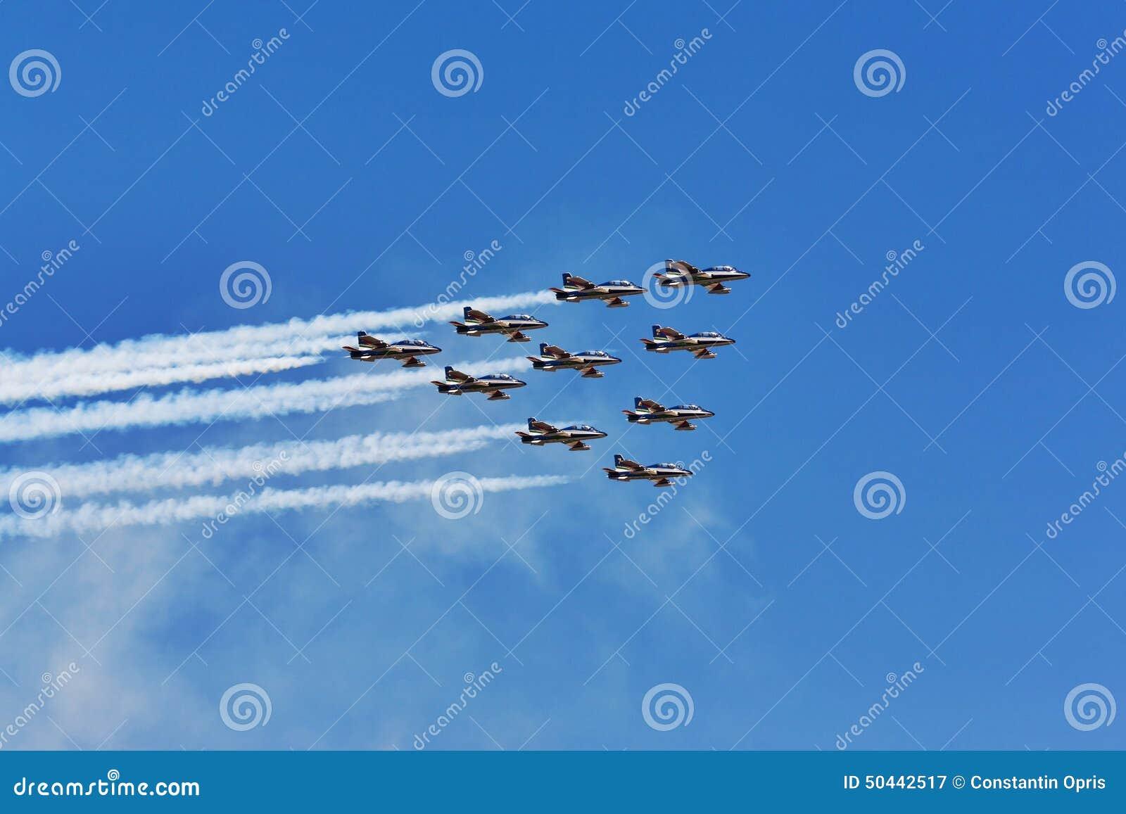 Frecce Tricolori飞机