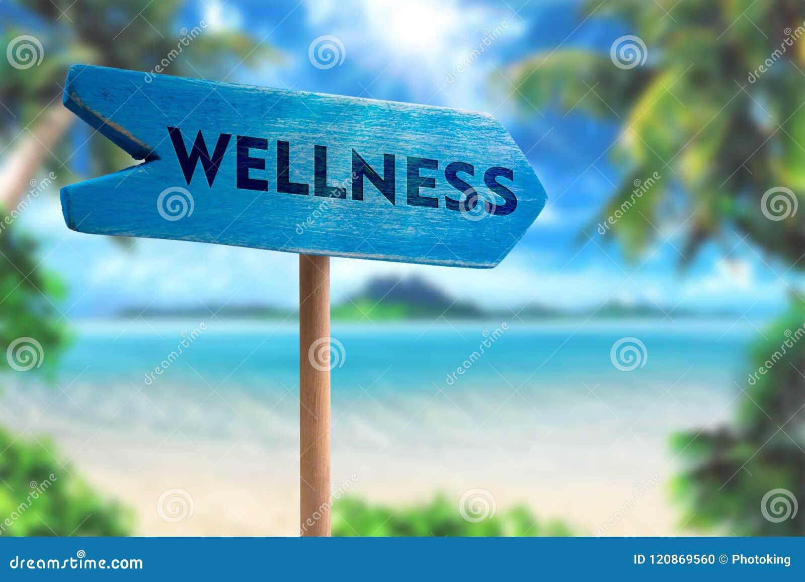 Freccia del bordo del segno di benessere