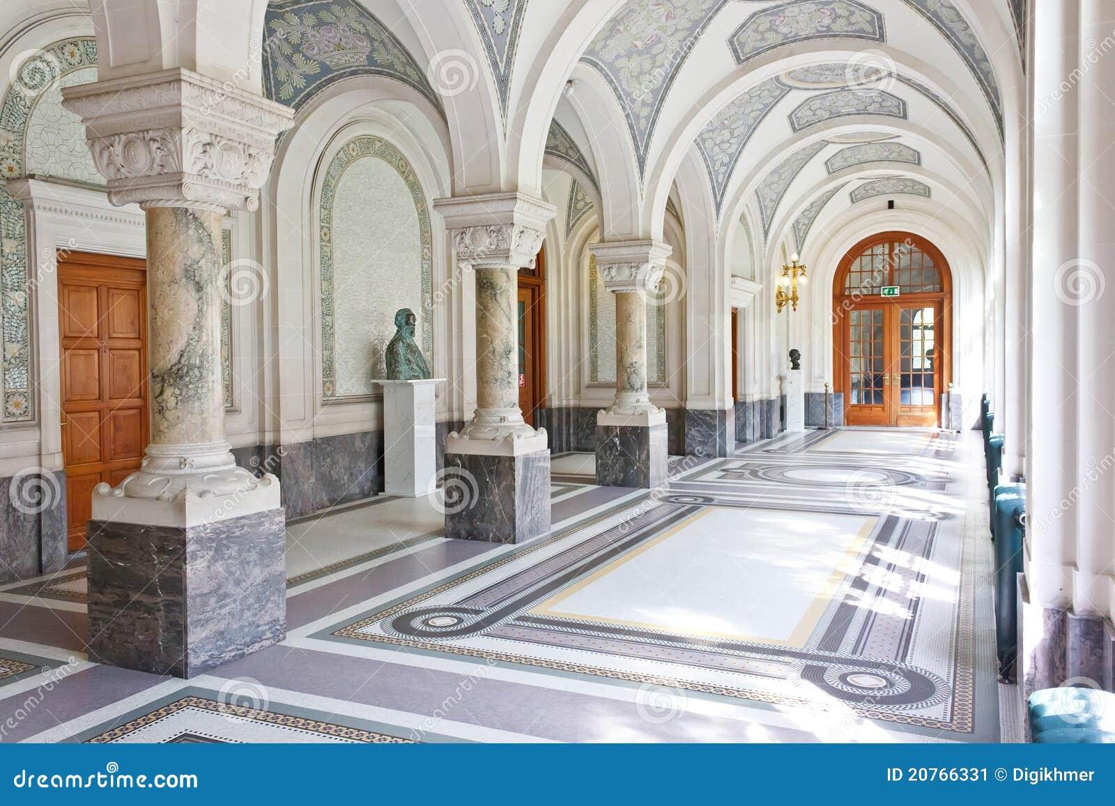 Fred för korridorhague slott