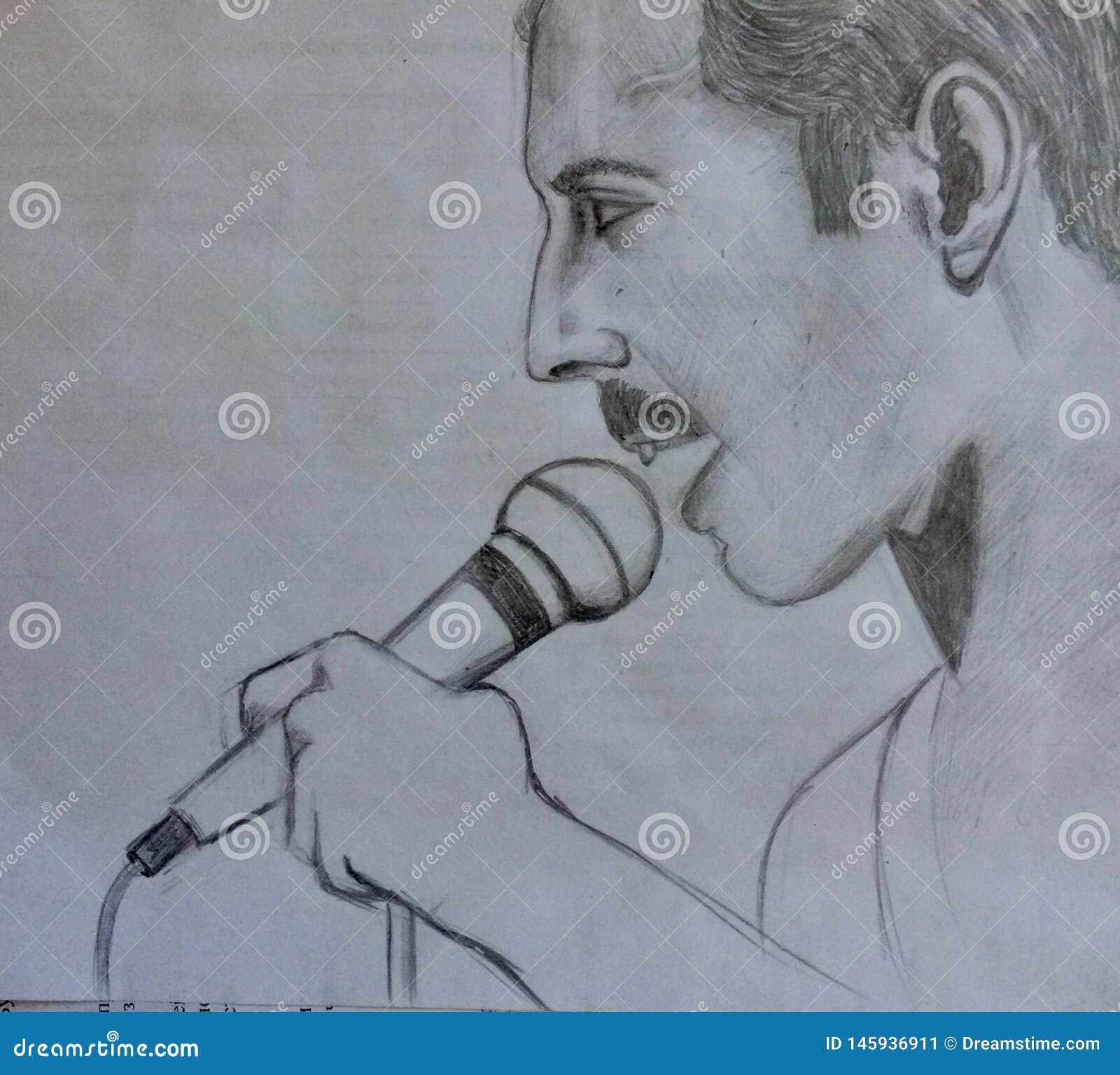 Freddie Mercury Mon portrait l?gende