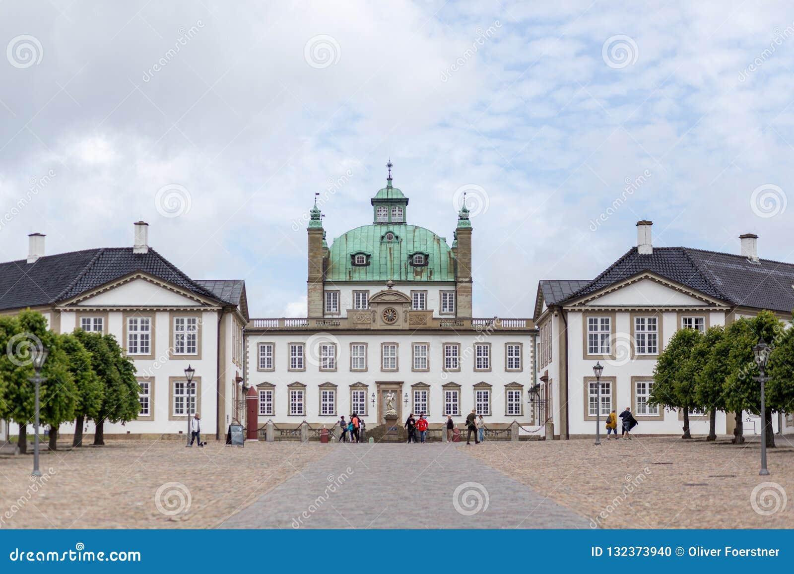 Fredensborg Palast in Dänemark