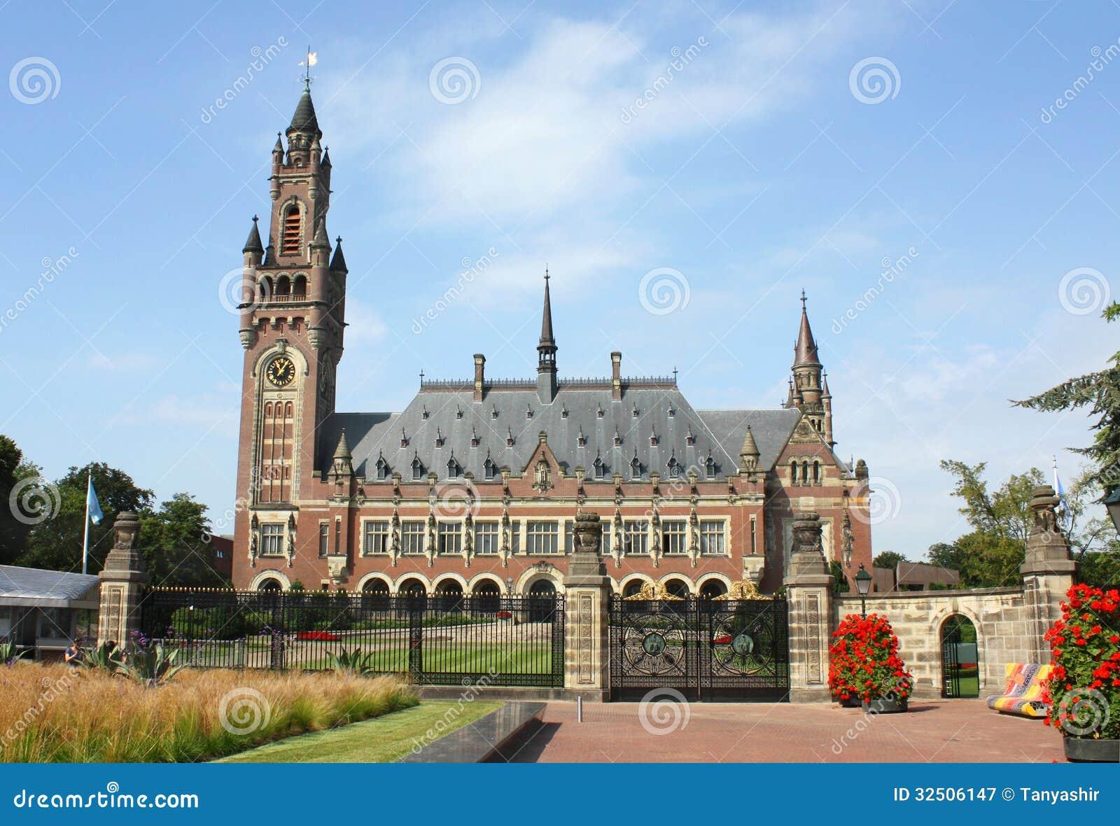 Fredslottinternationell domstol ICJ
