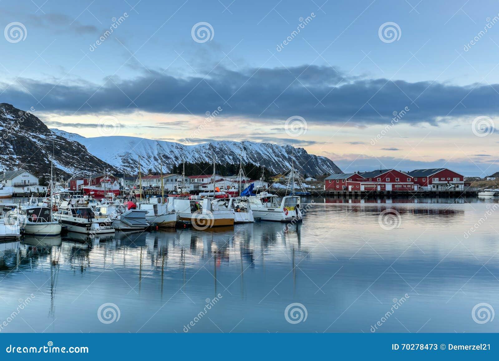 Fredvang - Lofoten-Eilanden, Noorwegen