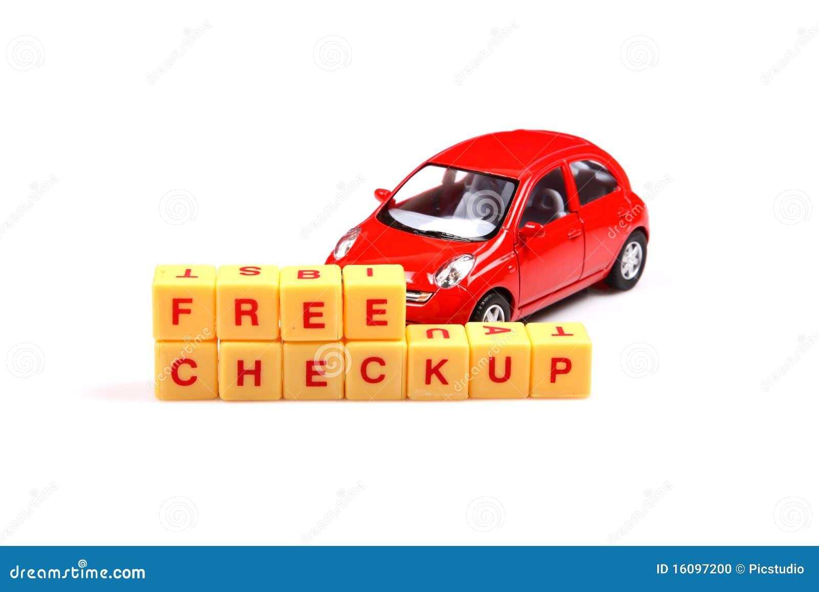 Free car check up
