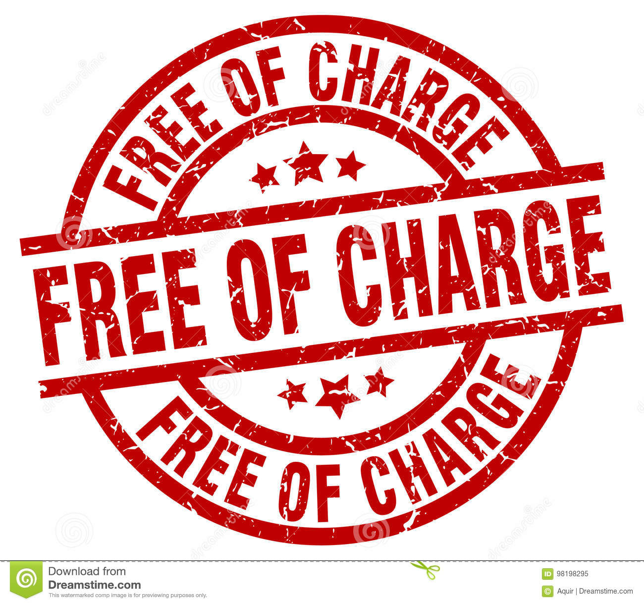 free without charge