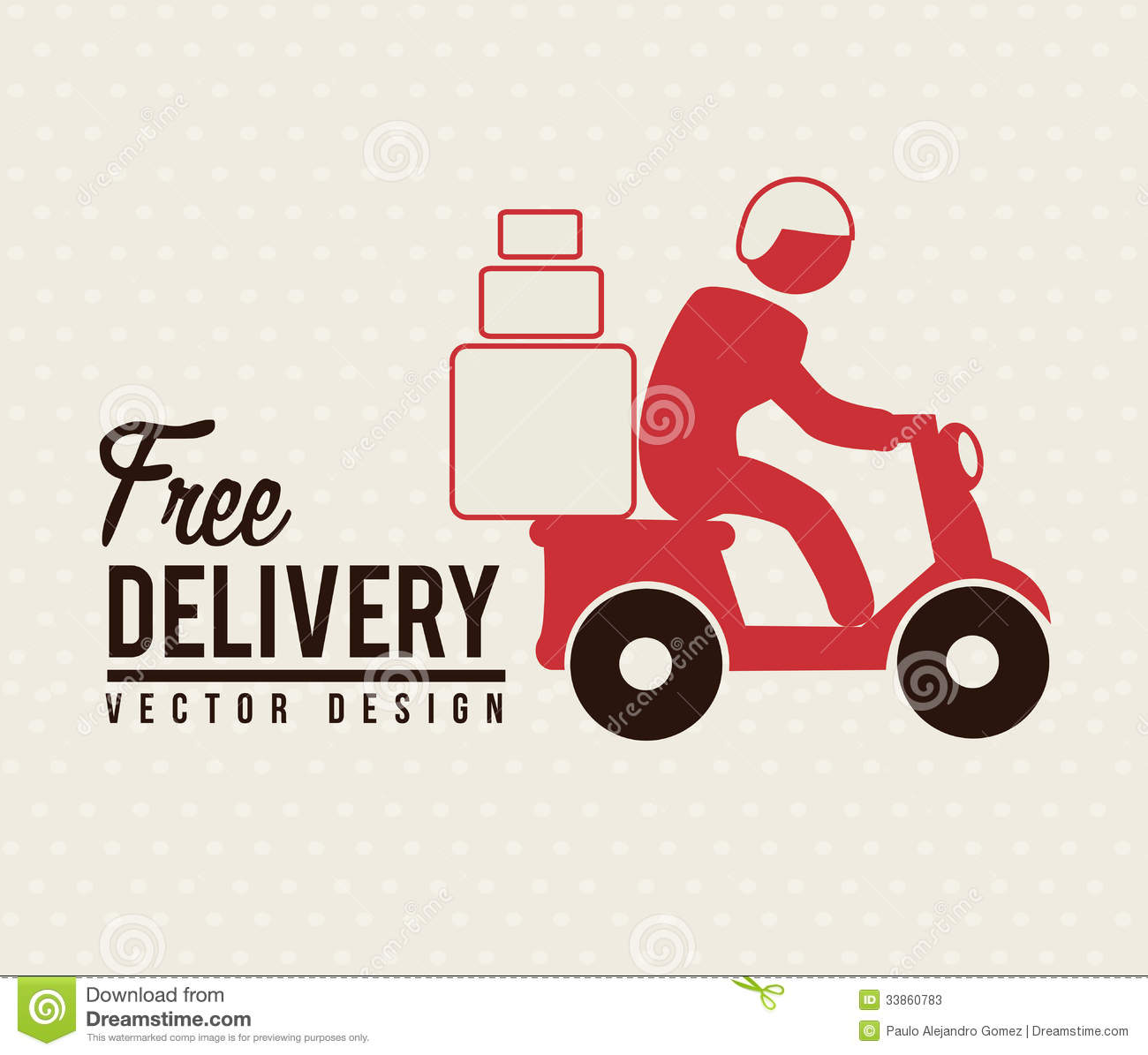 free delivery stock photos image 33860783
