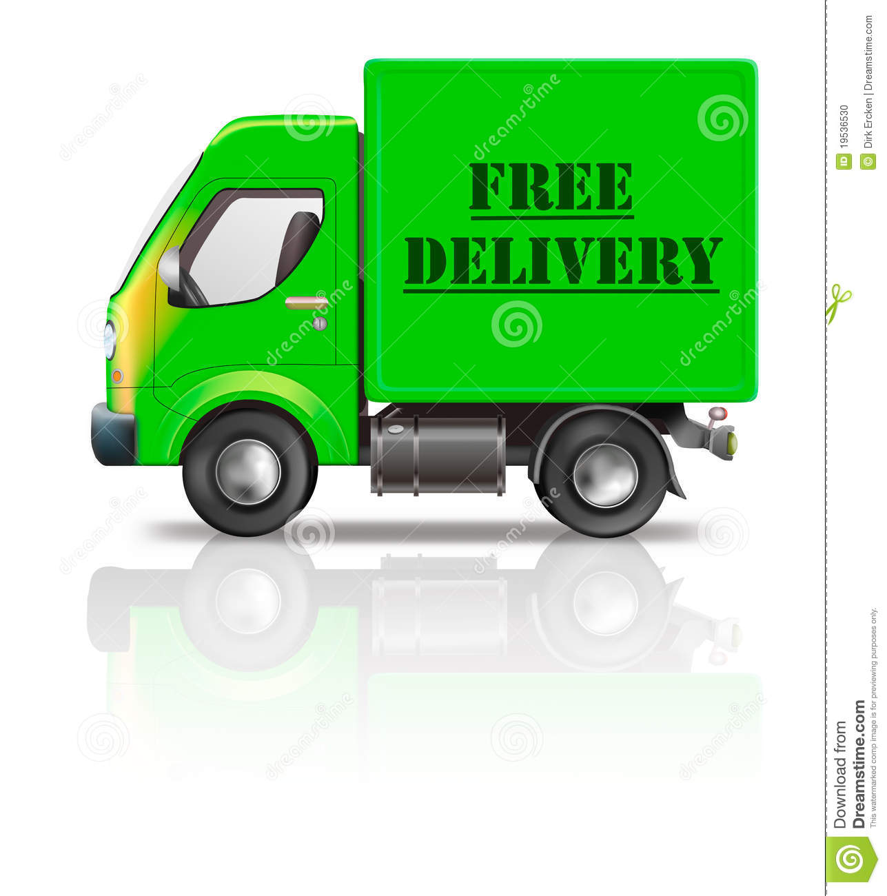 Shipping Delivery: Web-shop Vector Illustration