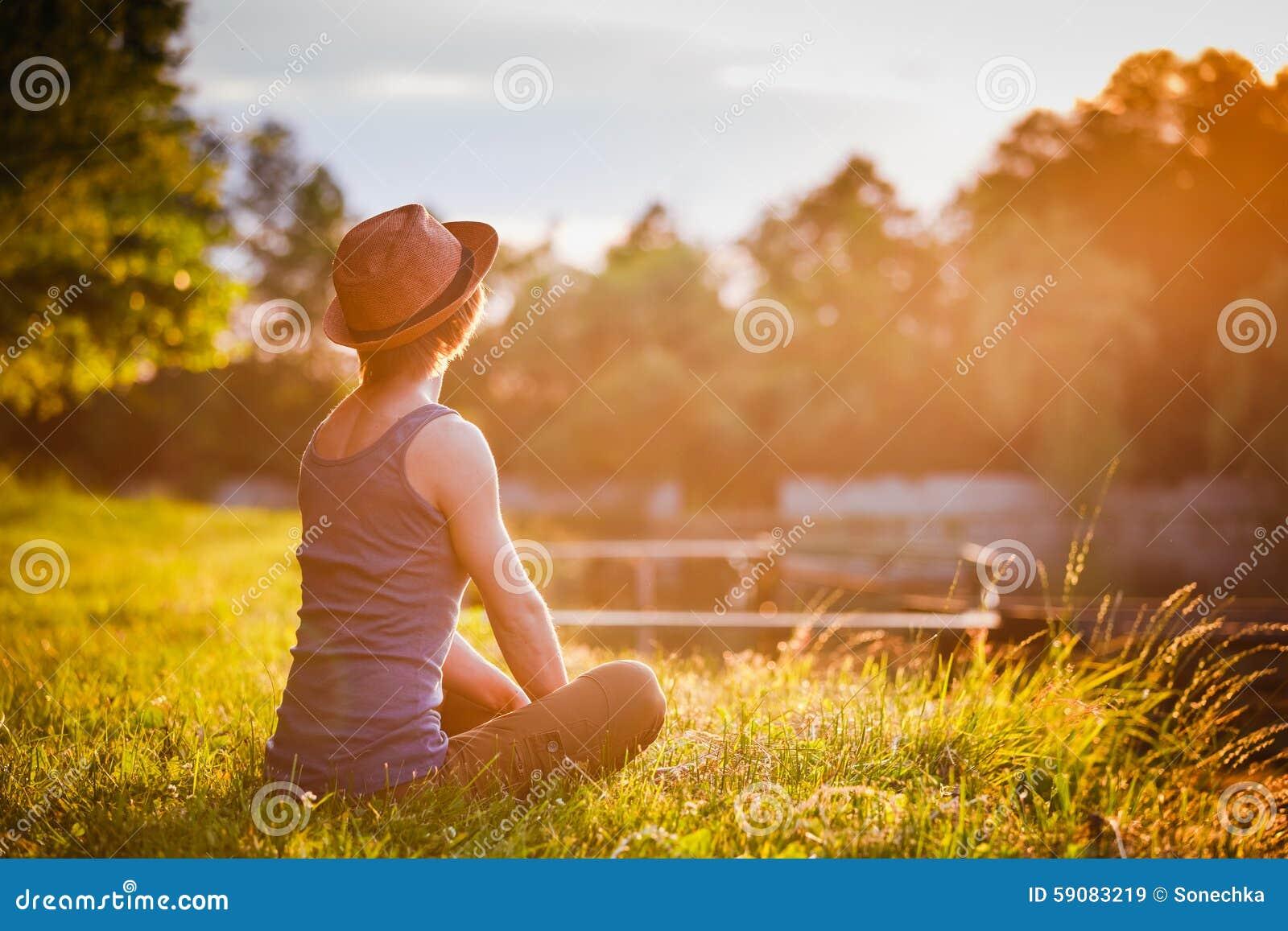 Free Happy Woman Enjoying Nature