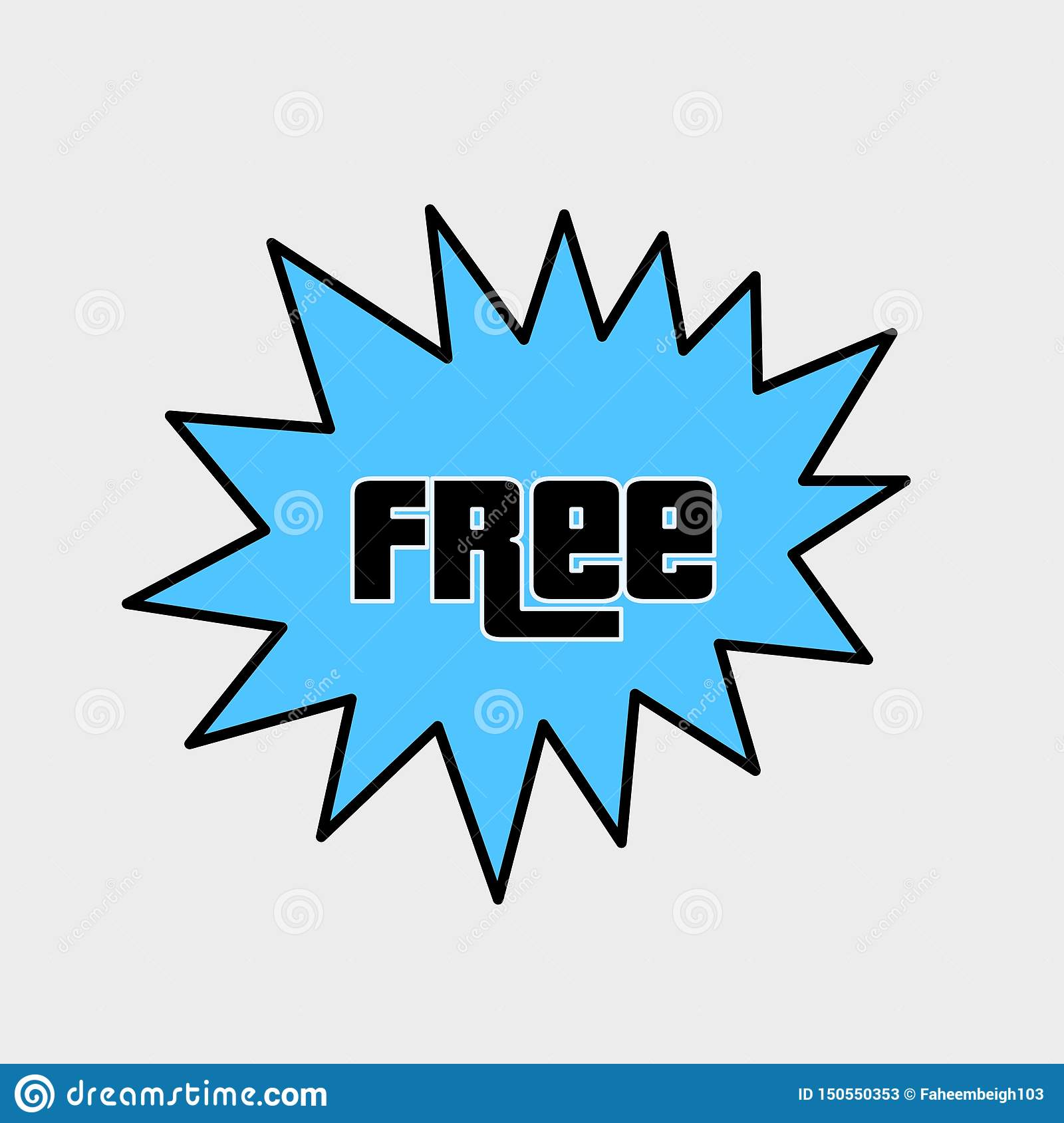 Free logo design or icon illustration clipart