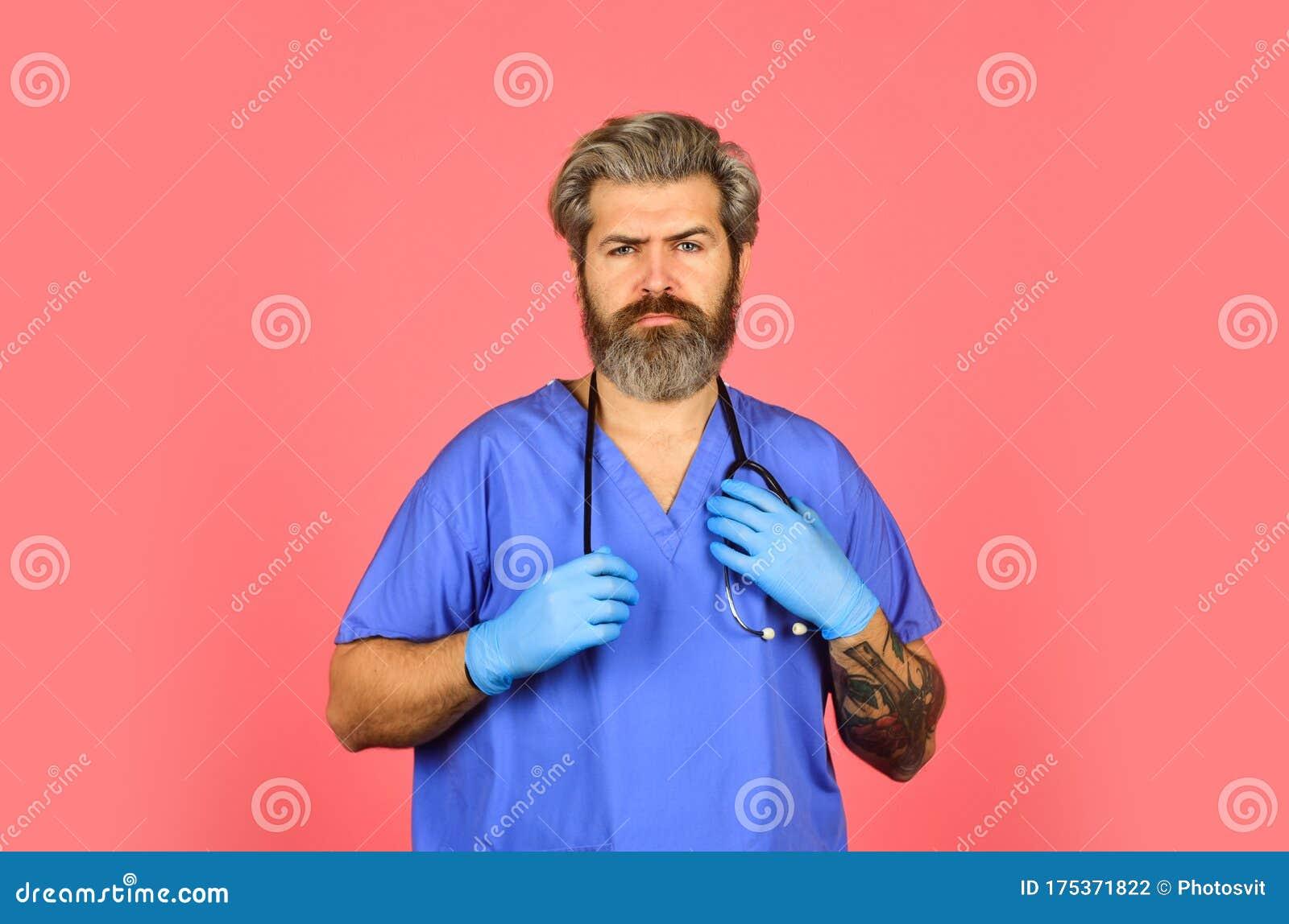 Free Medicine Concept. Professional Doctor. Insurance ...
