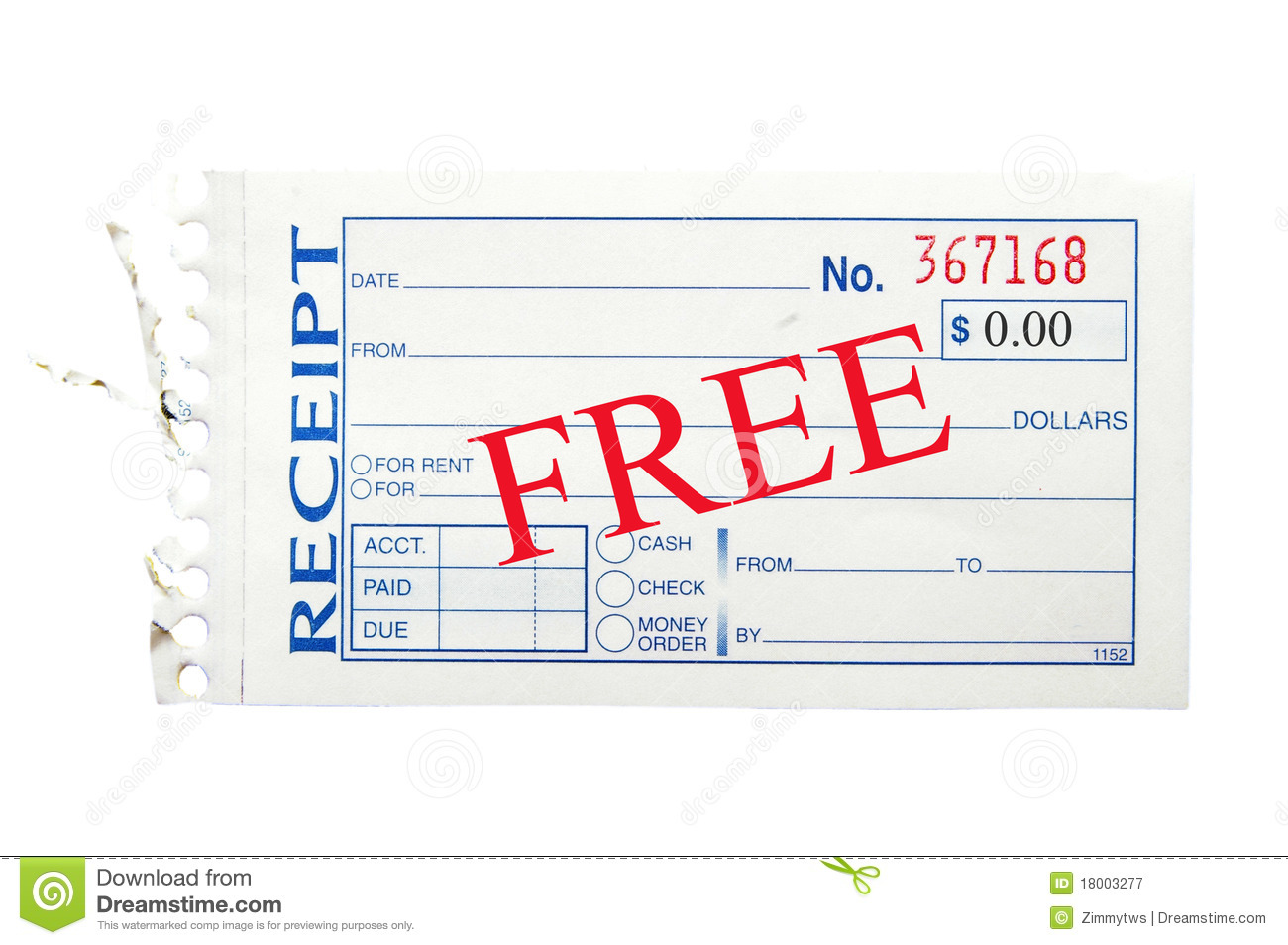 Free Receipt Royalty Free Photography Image 18003277 – Free Reciept