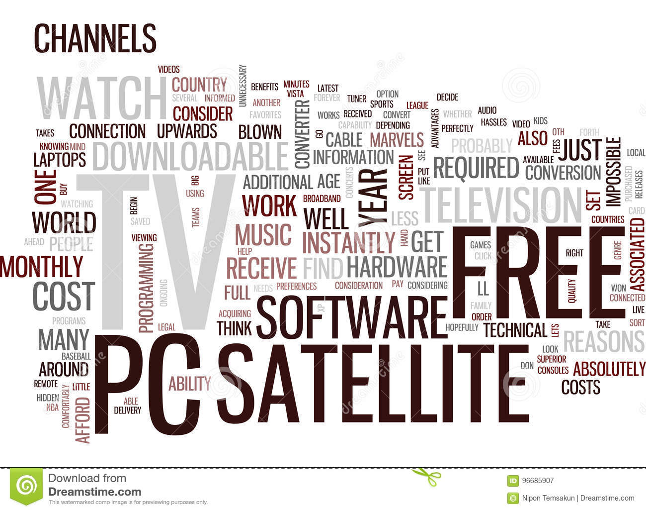 Free Satellite Tv Reasons To Get Satellite Tv On Your Pc