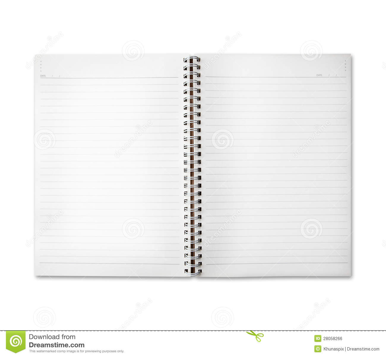 Free Space Of Diary Note Paper Royalty Free Stock Image - Image ...