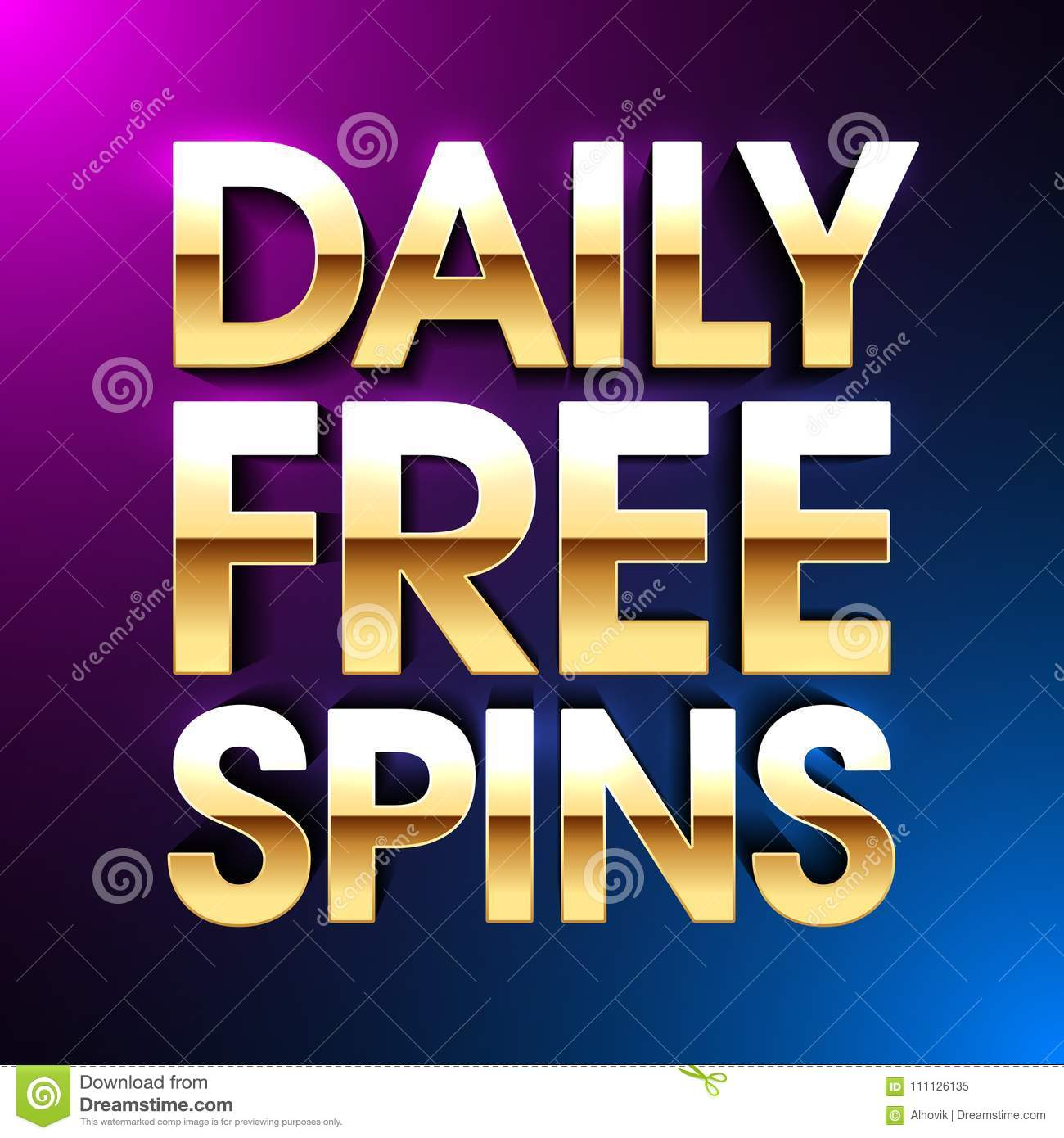 Daily free spins true blue casino