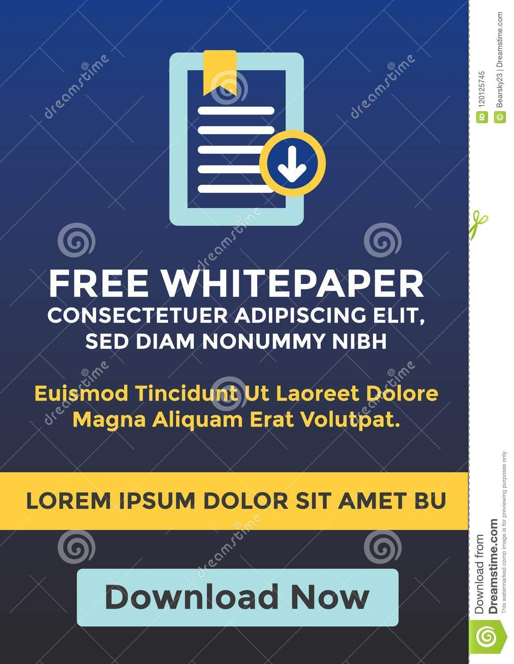 Free Whitepaper Or Ebook Download Cta Template W Replaceable Tex