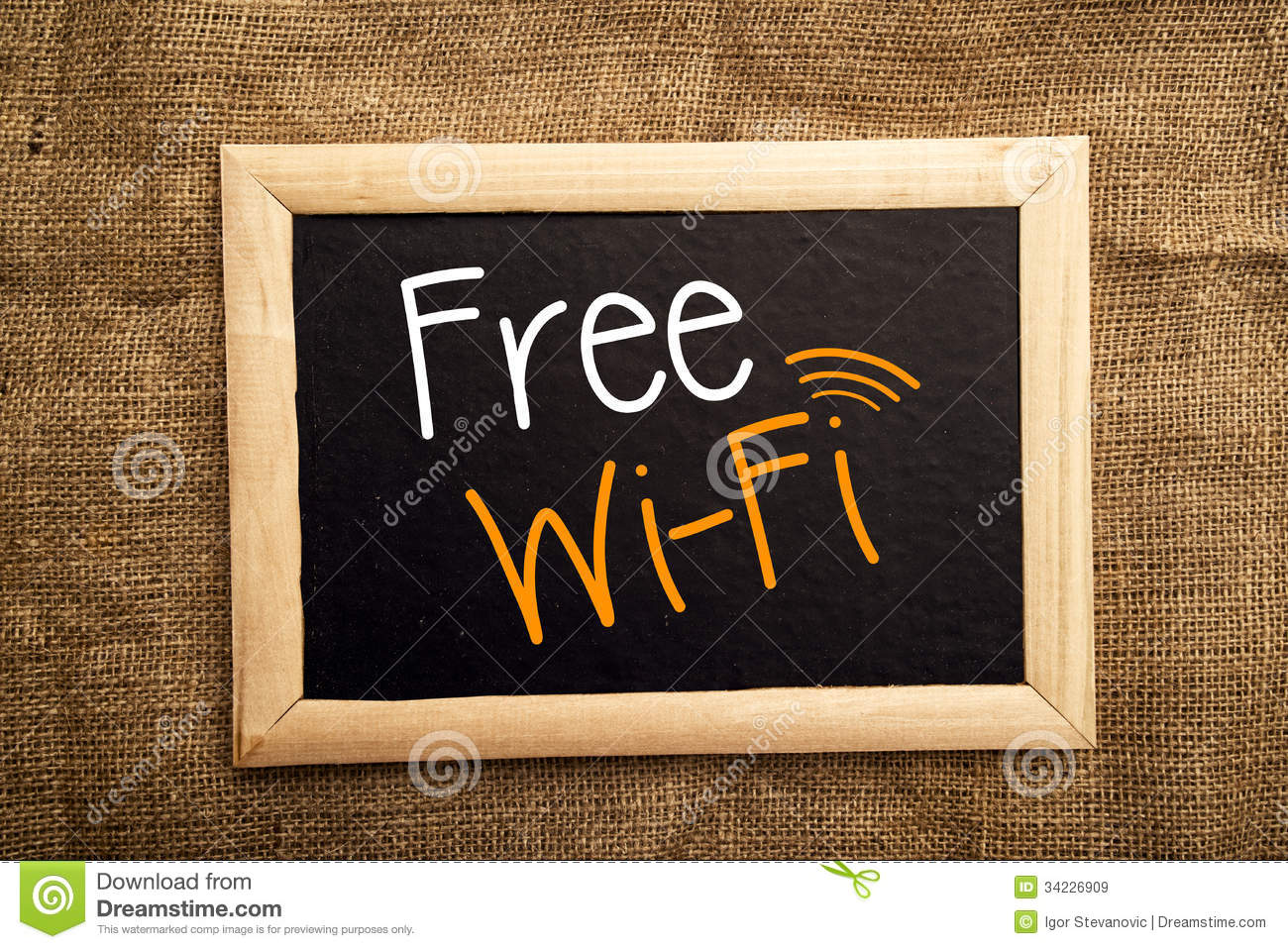 Free Wifi Royalty Free Stock Images Image 34226909