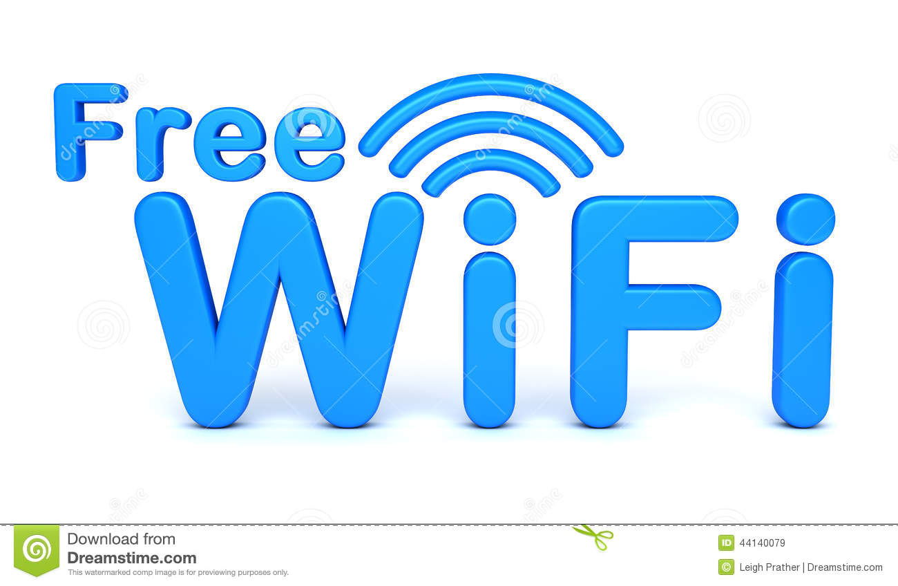 Free WiFi Symbol Stock Illustration  Image 44140079