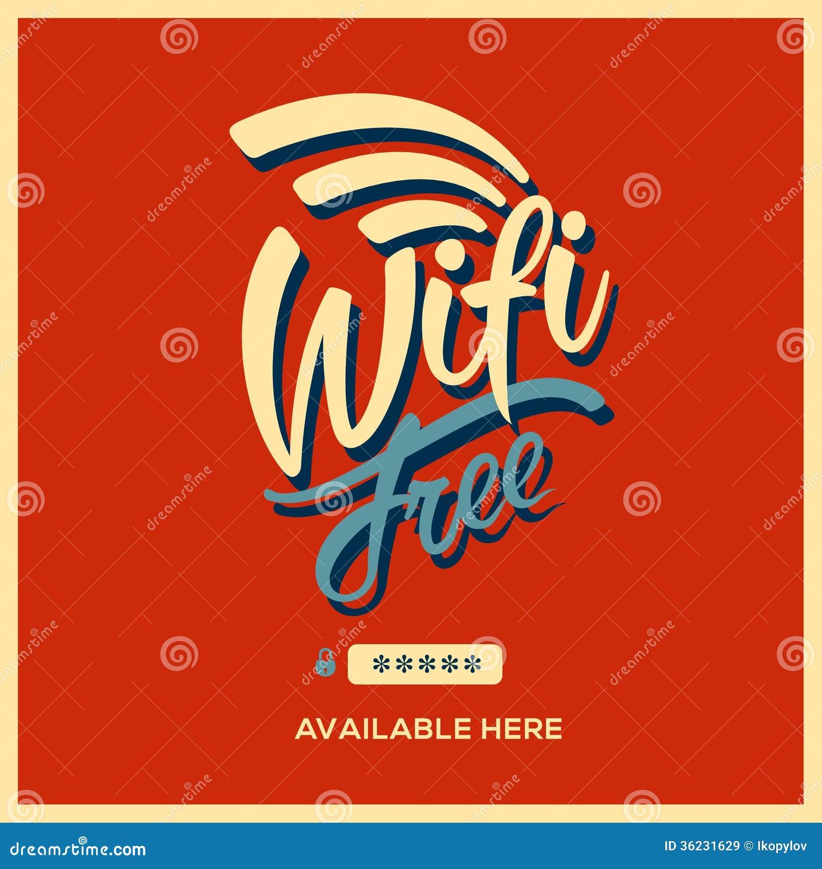 Free Wifi Symbol Retro Style Royalty Free Stock Images ...