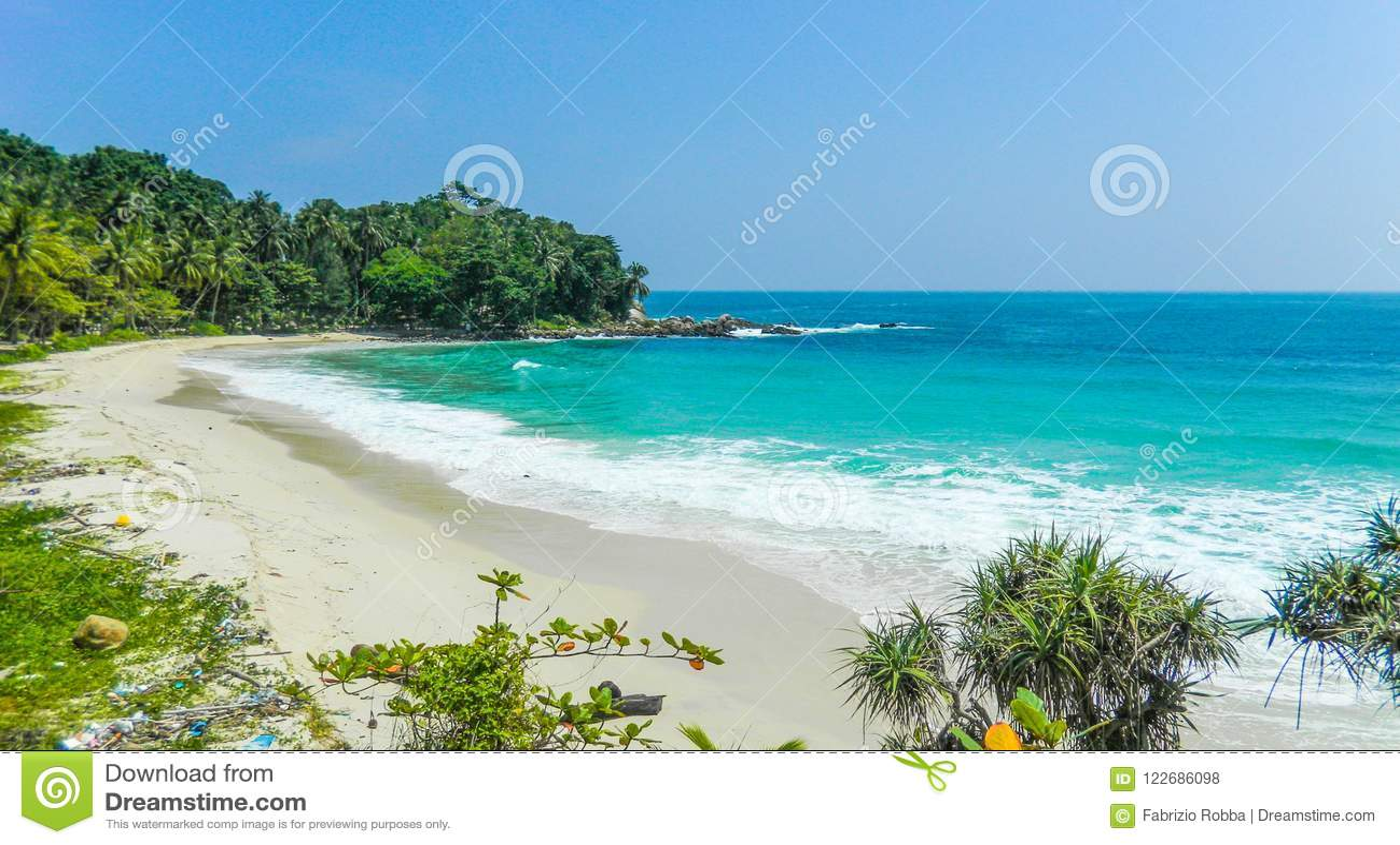 Freedom Beach, Phuket, Thailand.