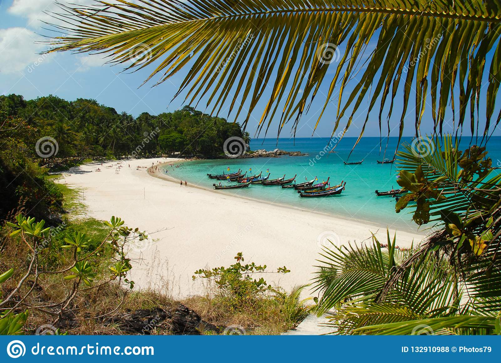 Freedom Beach In Phuket Thailand Stock Photo Image Of