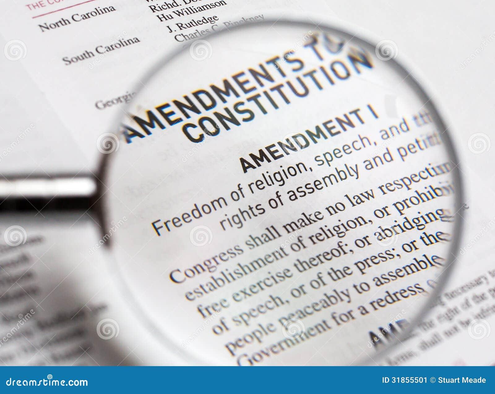 Us constitution freedom of speech