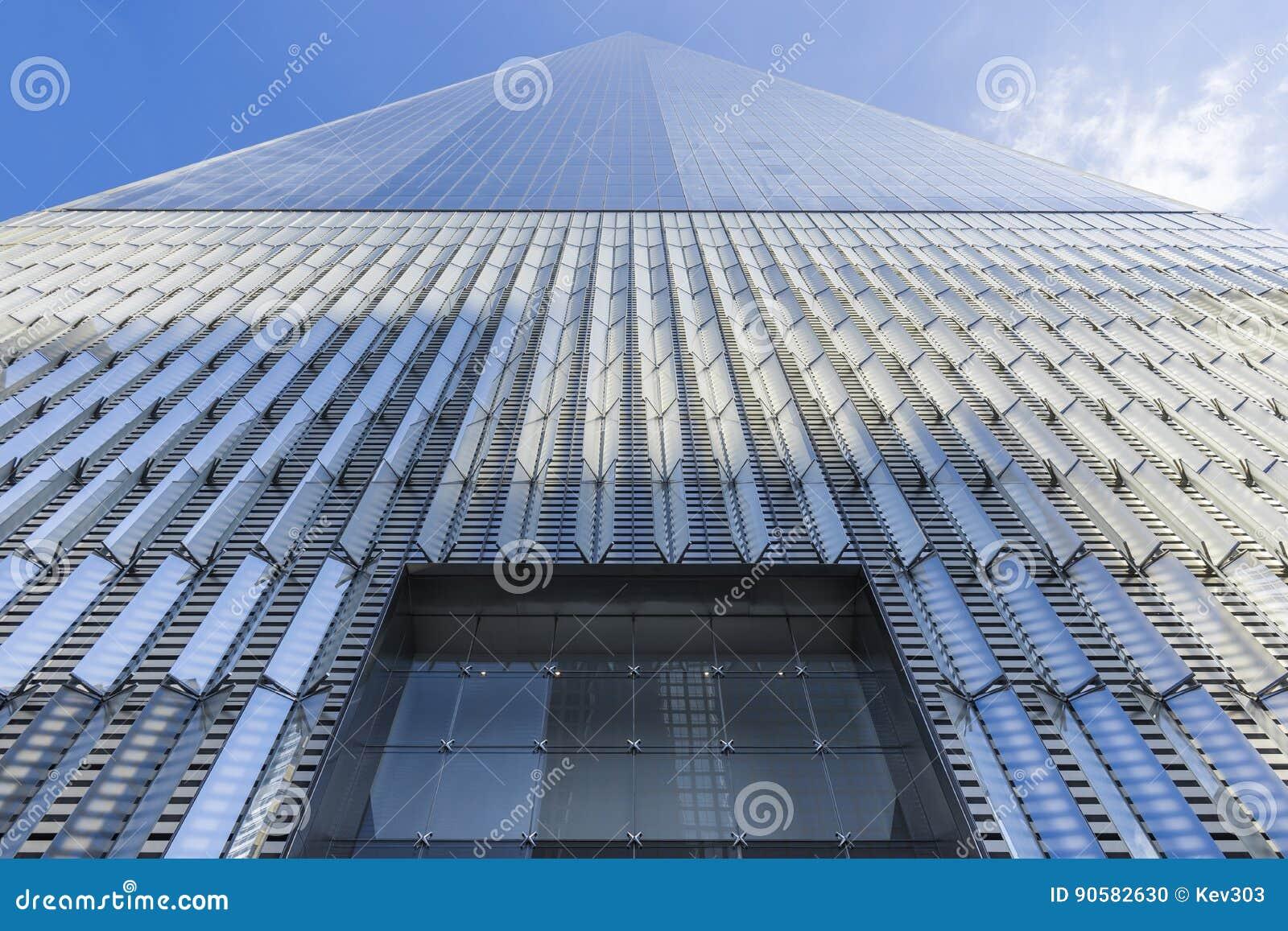 Freedom Tower Ein World Trade Center New York City Usa