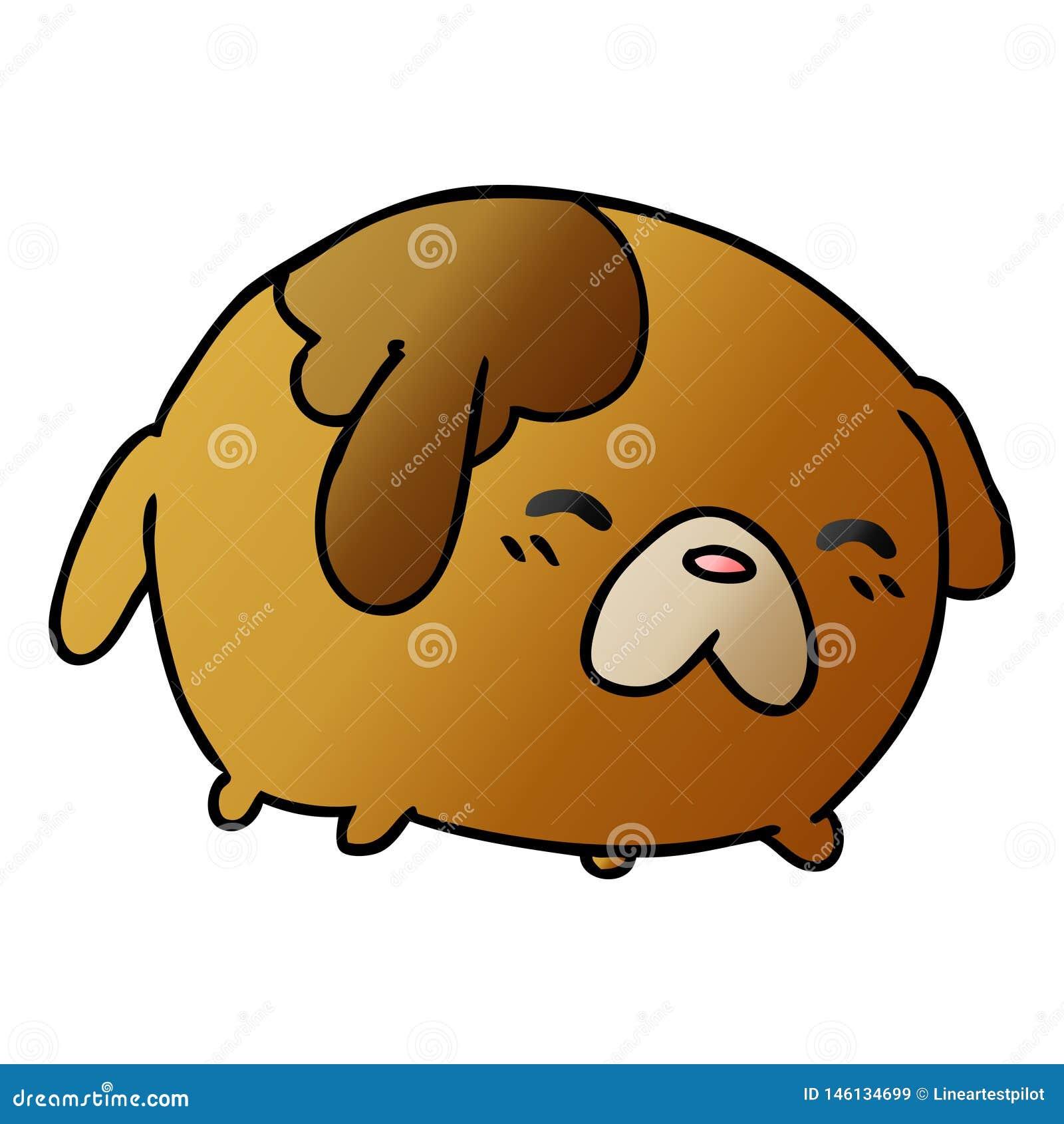 Gradient Cartoon Kawaii Cute Dog Animal Pet Art Artwork Illustration Doodle Drawing Quirky Funny Fun Freehand Free Hand Drawn Stock Illustrations 12 Gradient Cartoon Kawaii Cute Dog Animal Pet Art Artwork