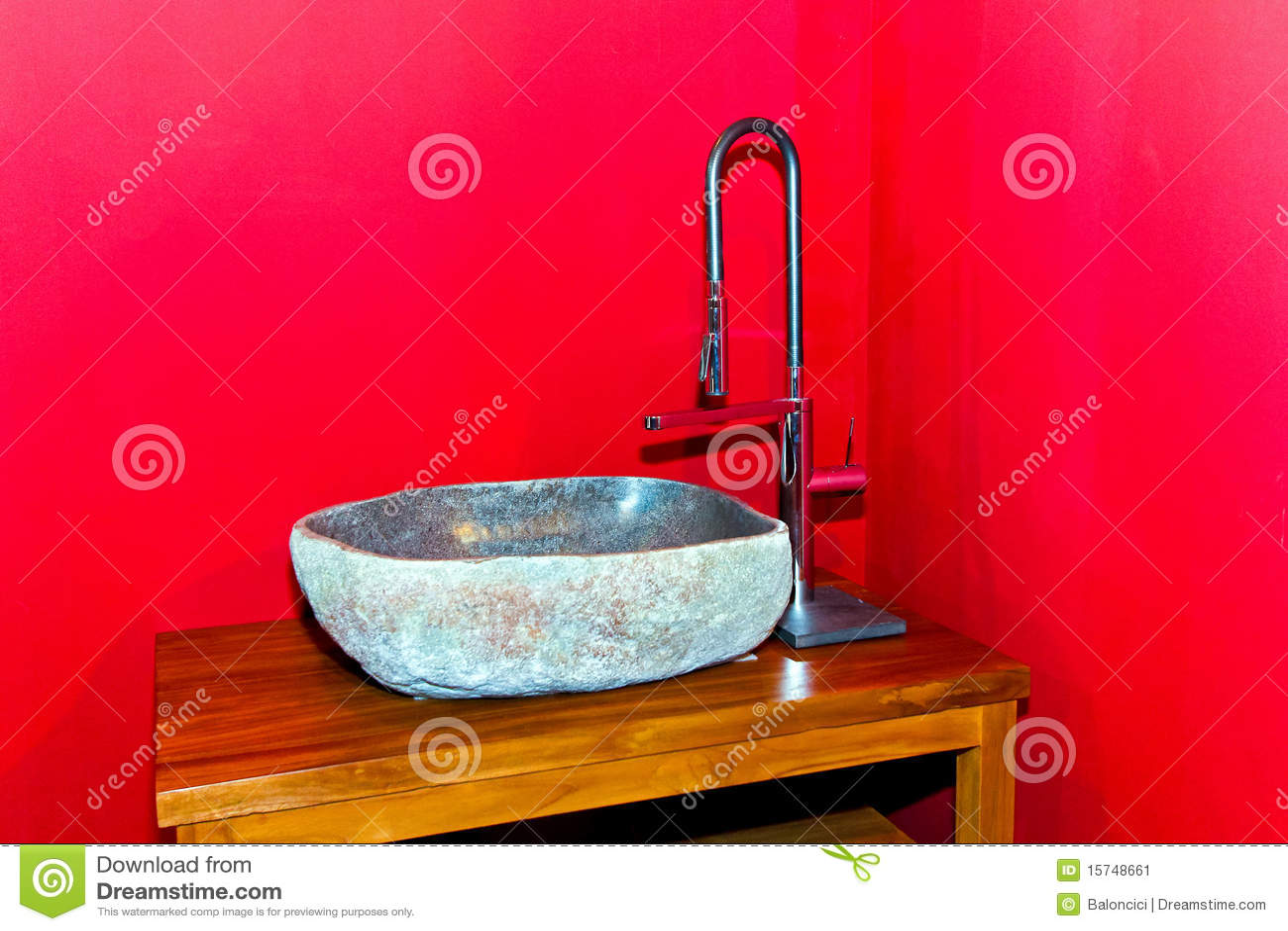 Fregadero de piedra imagen de archivo imagen 15748661 - Fregaderos de piedra ...