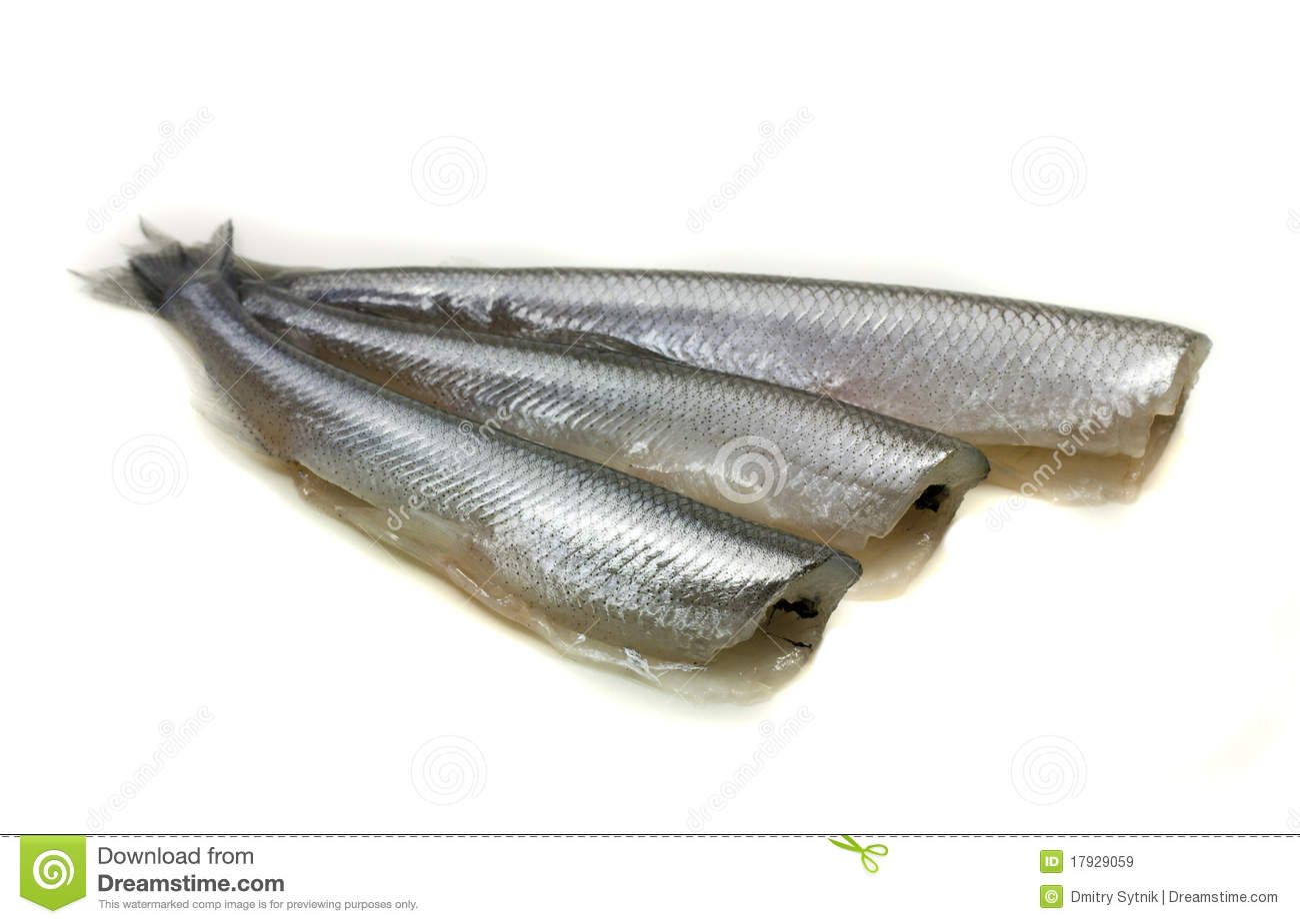 Freh small scale fish without head royalty free stock for Fish without scales