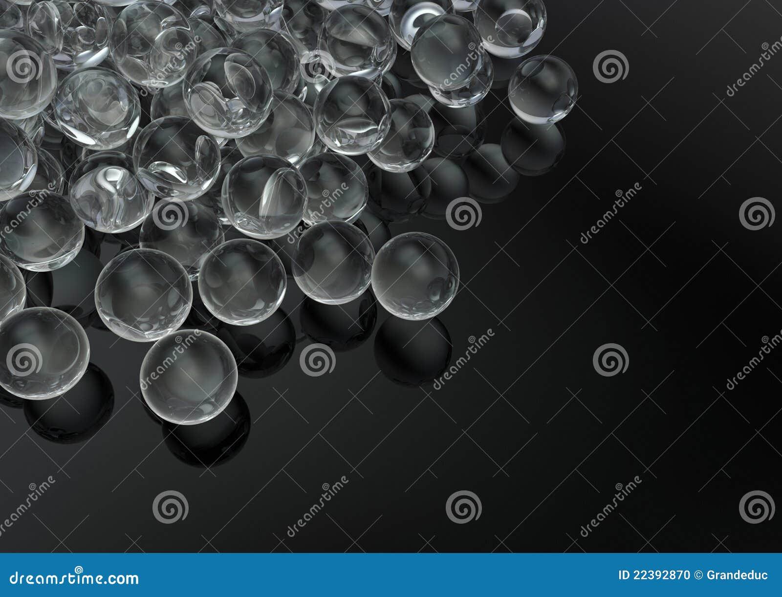 Freie Glasmarmore