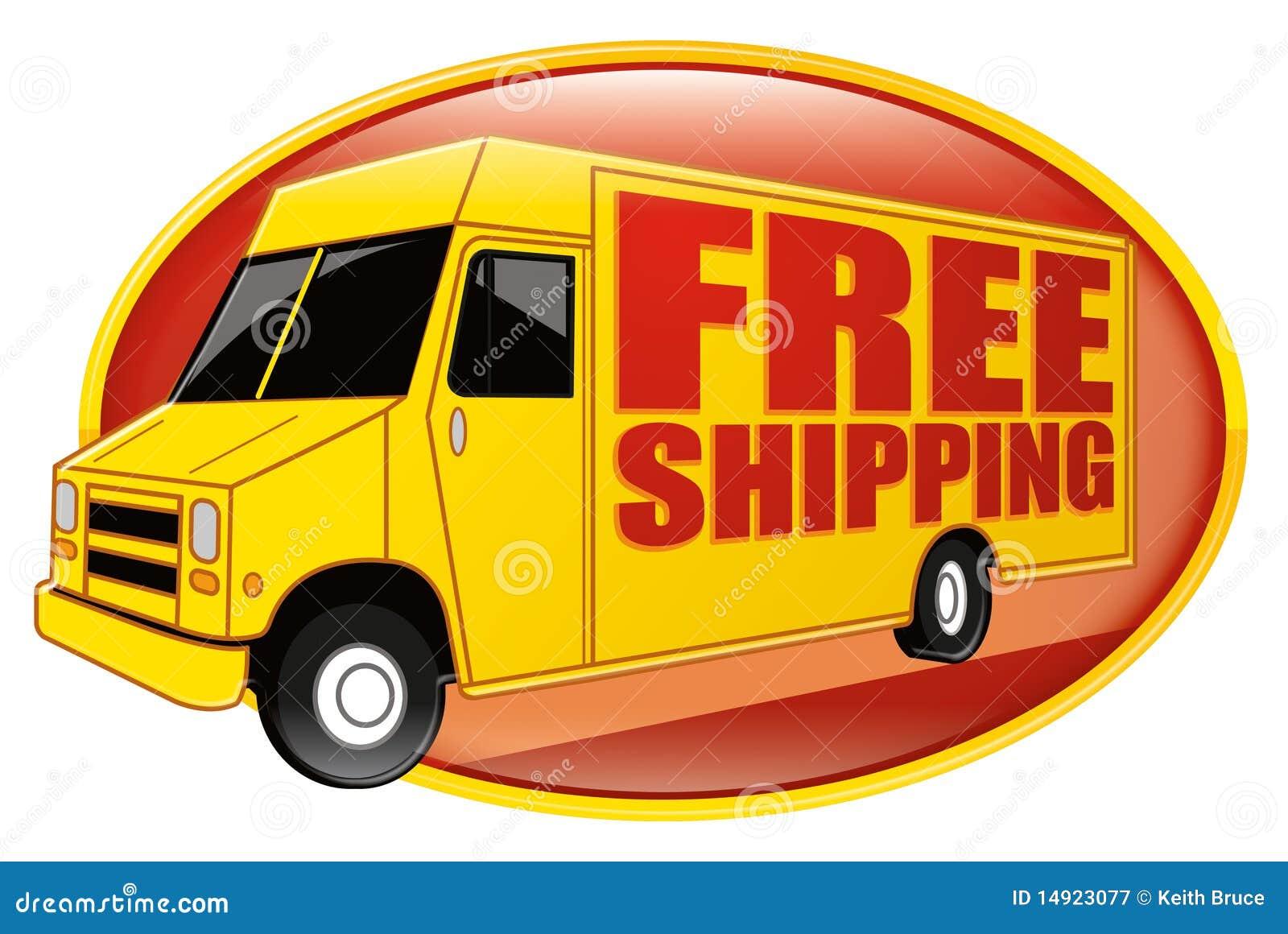 Freies Verschiffen-Lieferwagen-Gelb