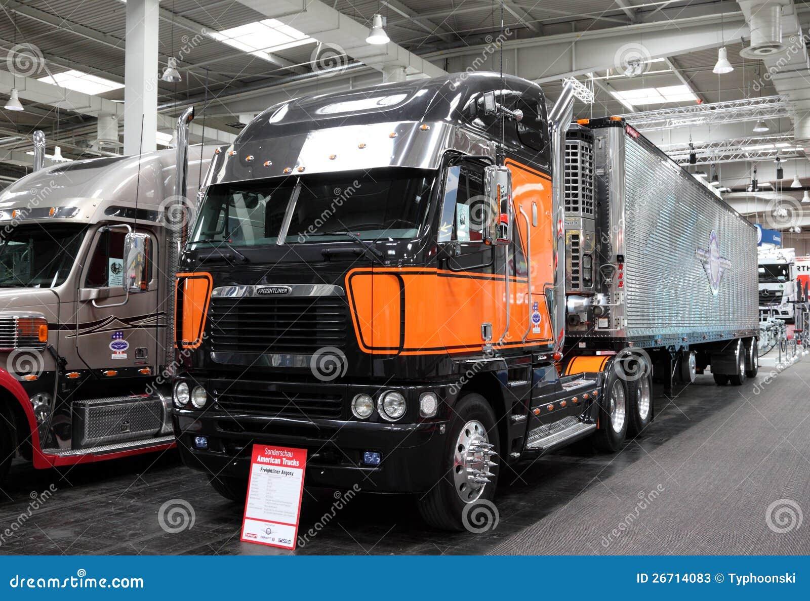 Freightliner Argosy Truck Editorial Stock Photo - Image: 26714083