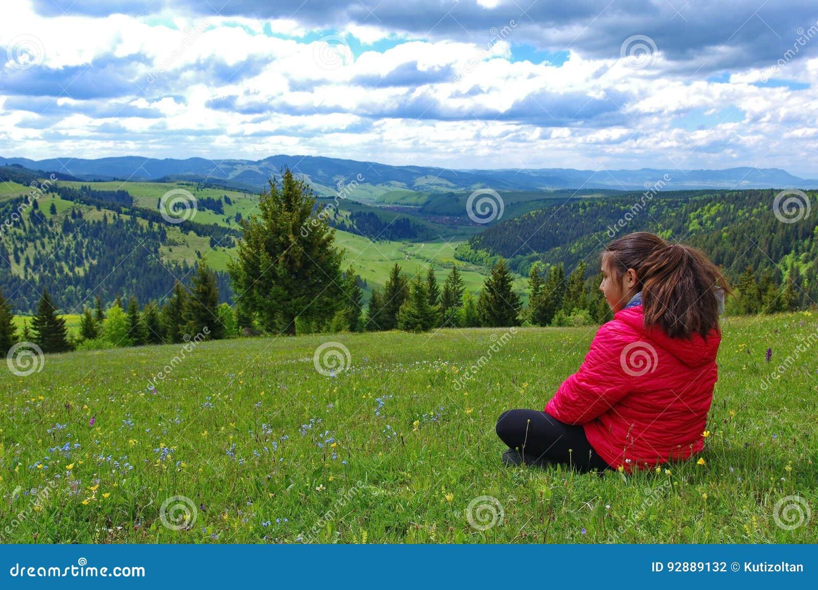 Freiheit in den Bergen