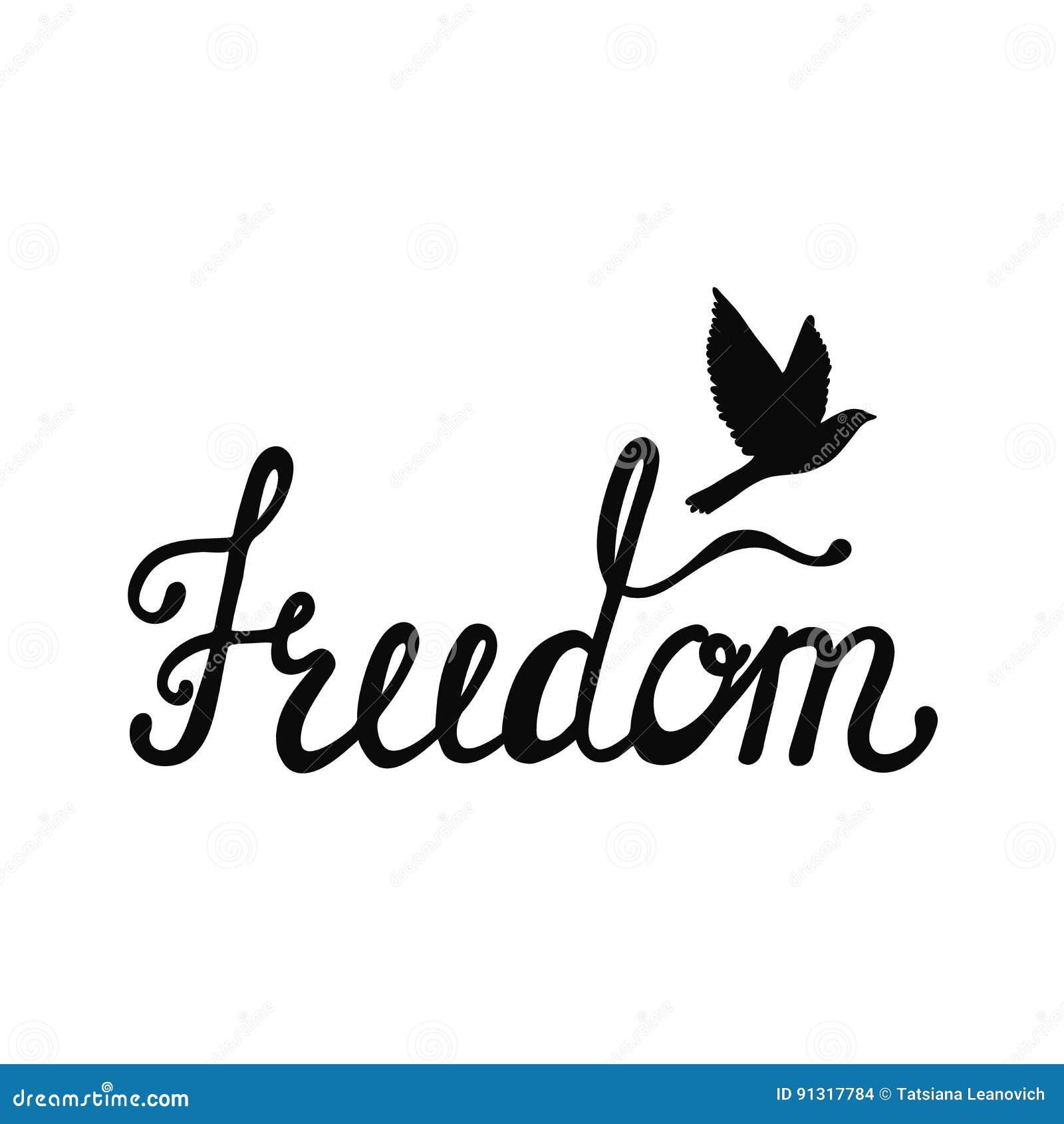 Freiheit Inspirierend Zitat