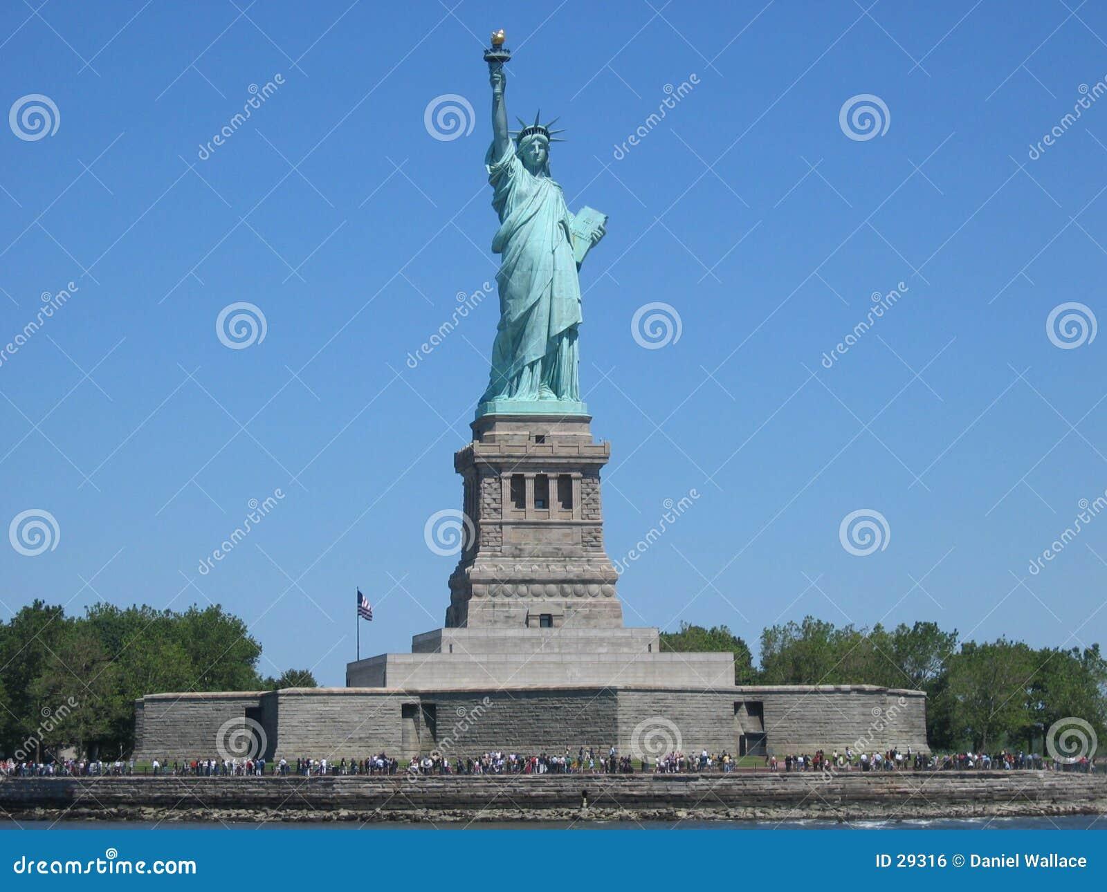 Download Freiheitsstatue stockfoto. Bild von amerika, statue, groß - 29316
