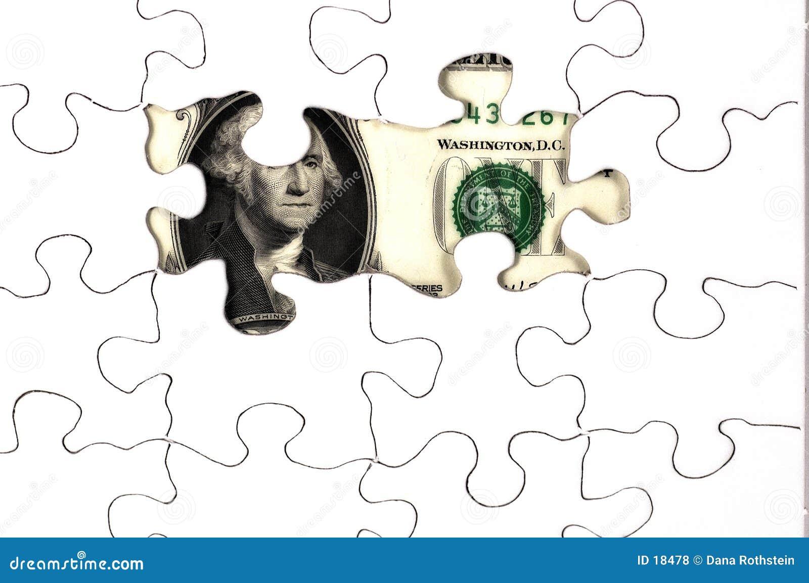 Freilegtes Geld