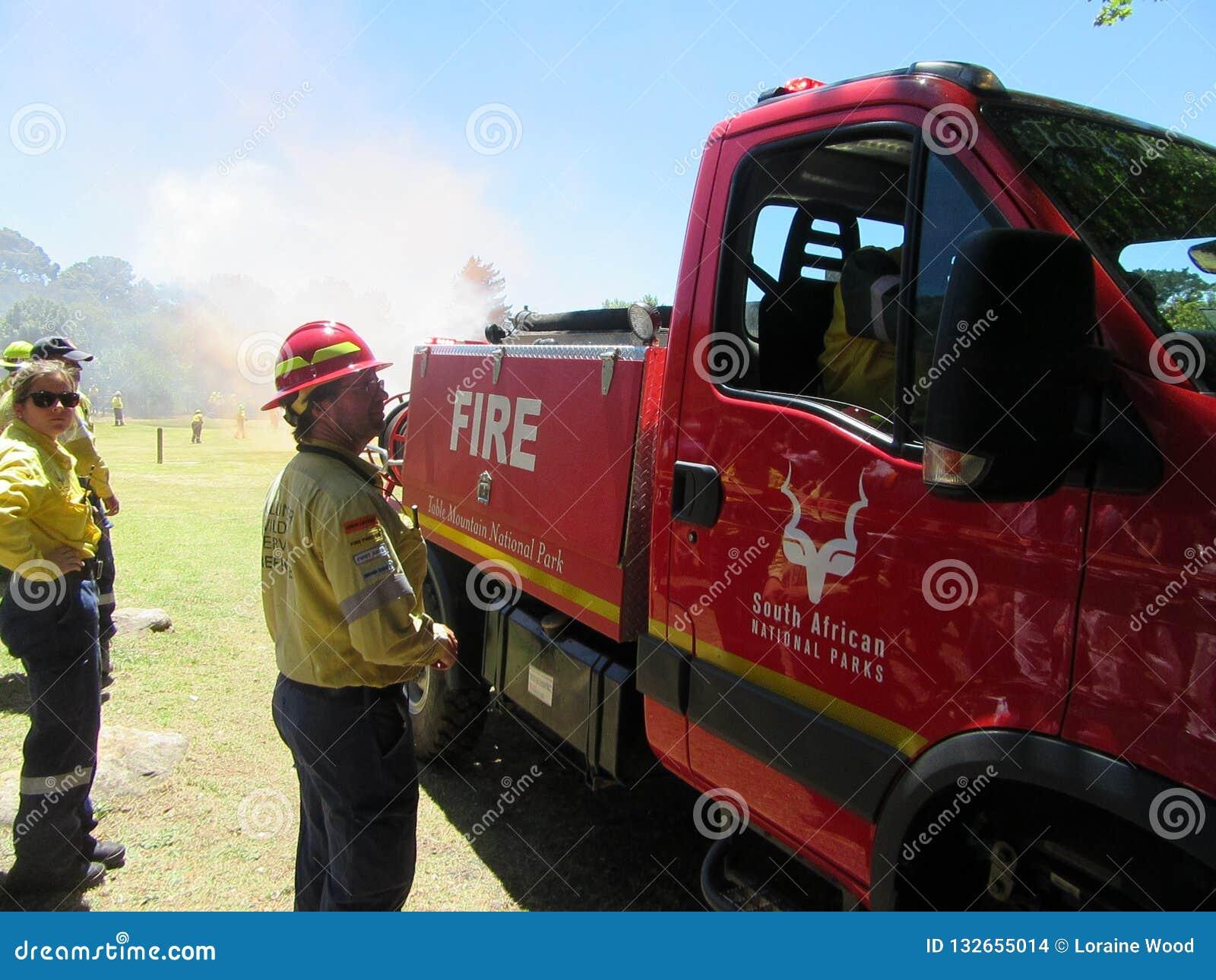 Freiwillige Feuerwehrmänner