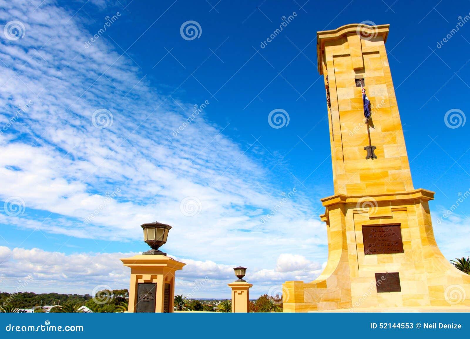 Memorial day date in Perth