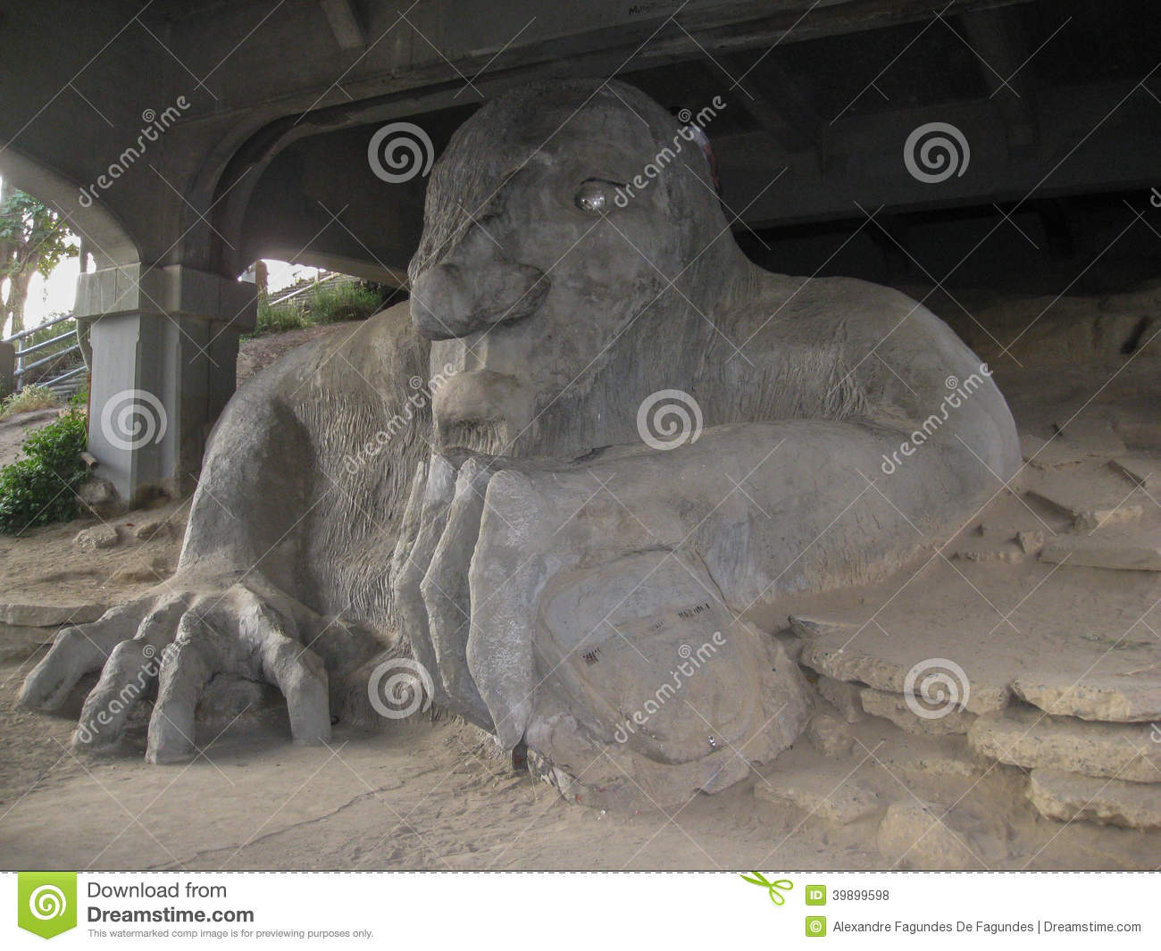 Fremont Troll Seattle Editorial Stock Photo - Image: 39899598