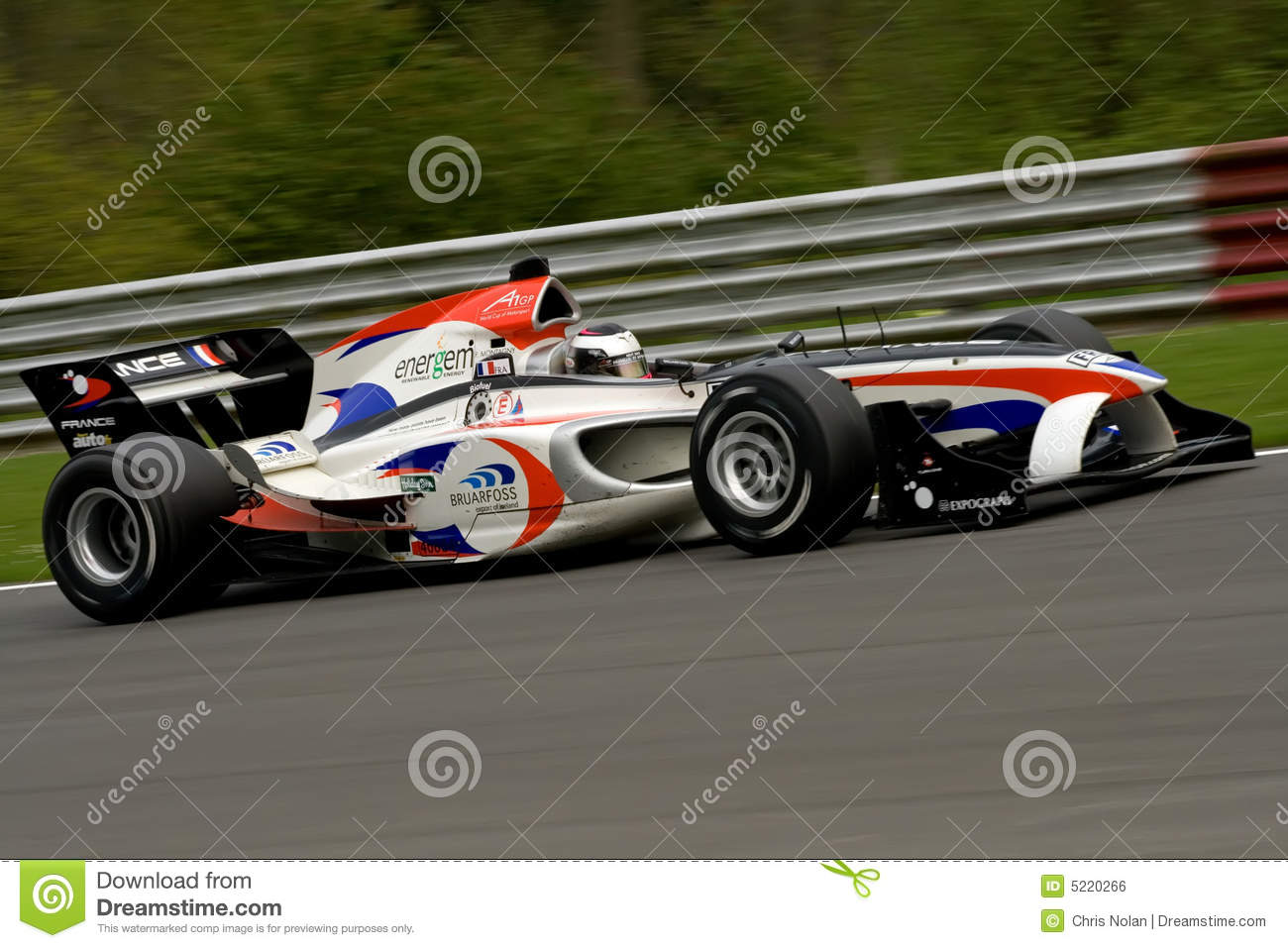 French a1 gp race car