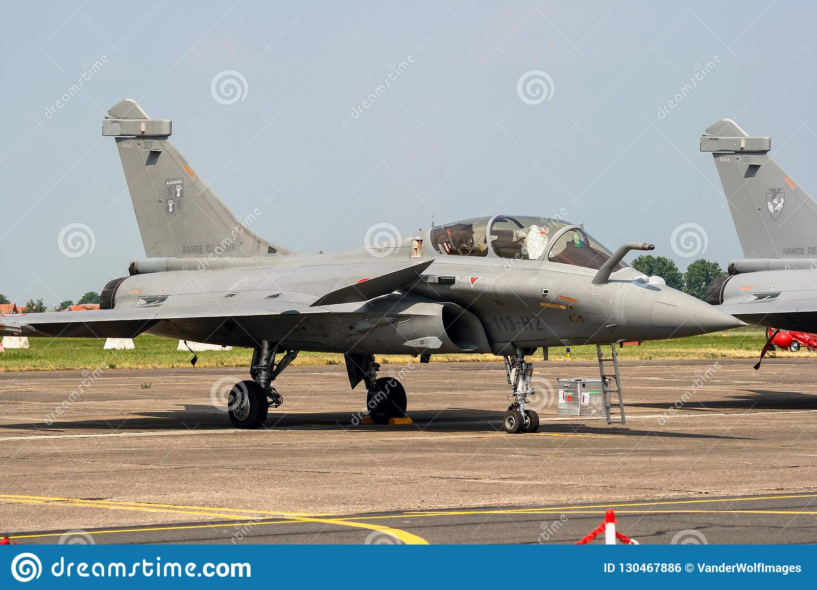 French Air Force Dassault Rafale Fighter Jet Aircraft