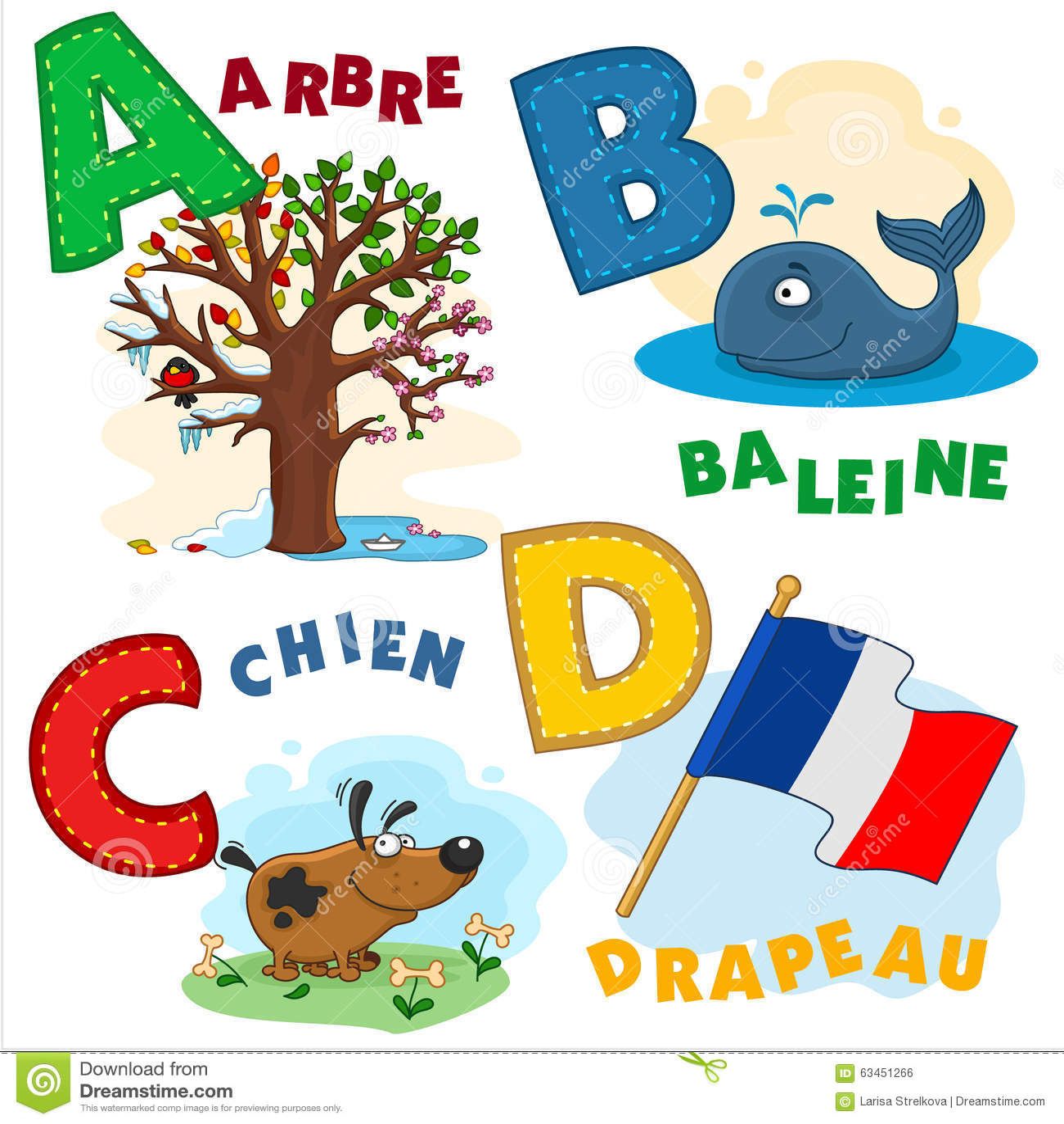 French alphabet part 1
