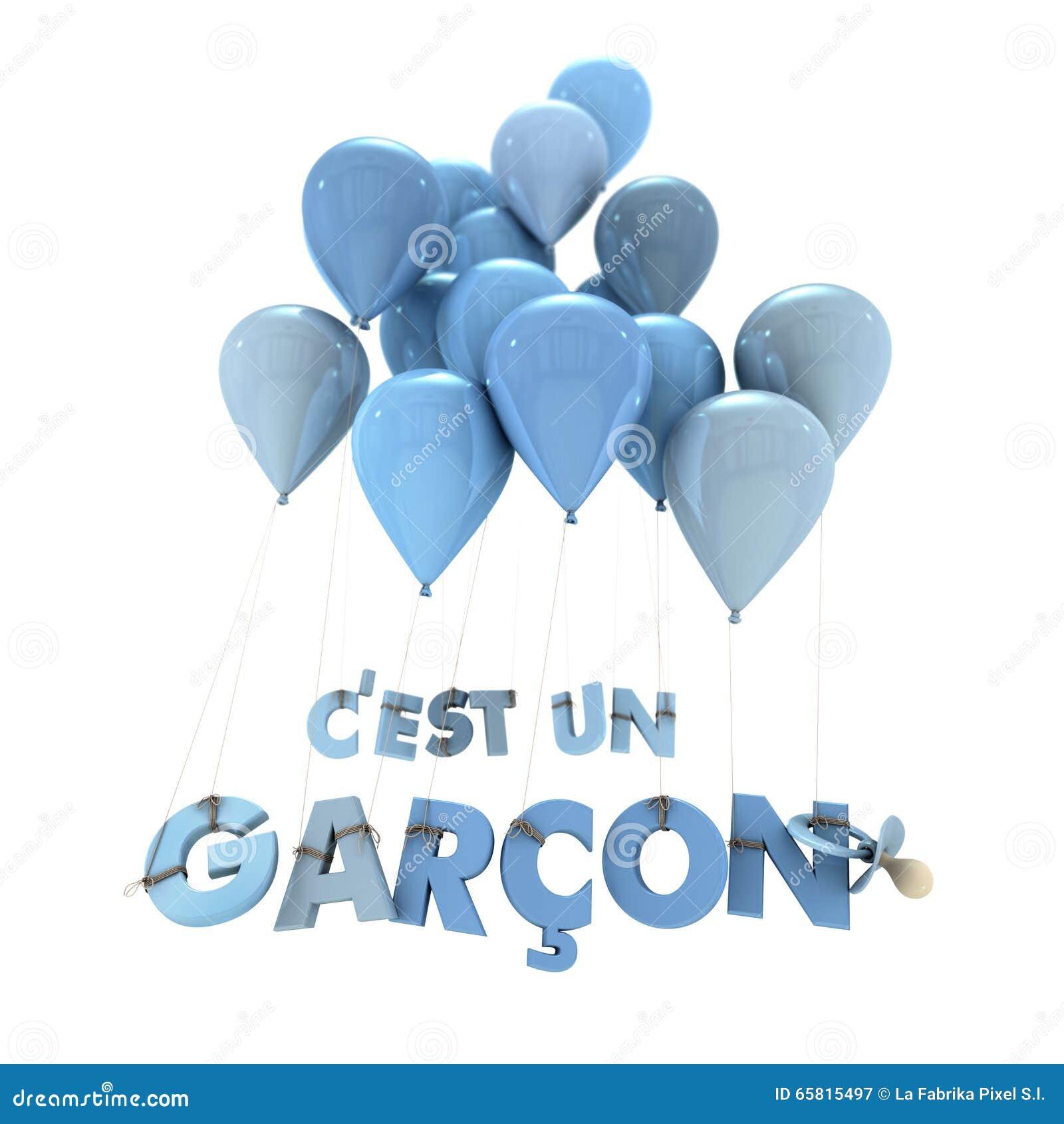 French Baby Boy Birth Announcement Illustration Image – Baby Boy Birth Announcement Sayings