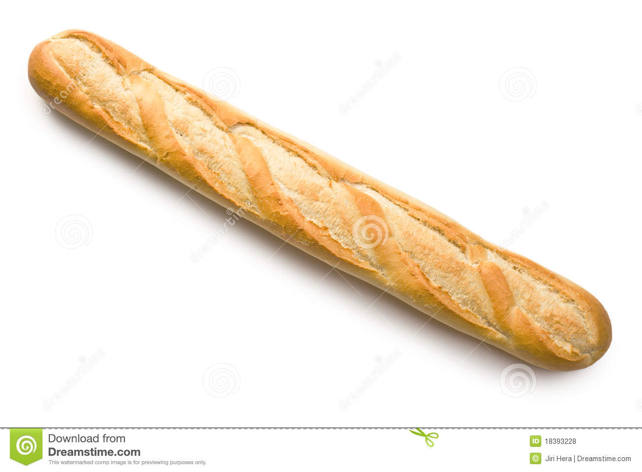 French Baguette Stock Photo Image Of Flour Freshness