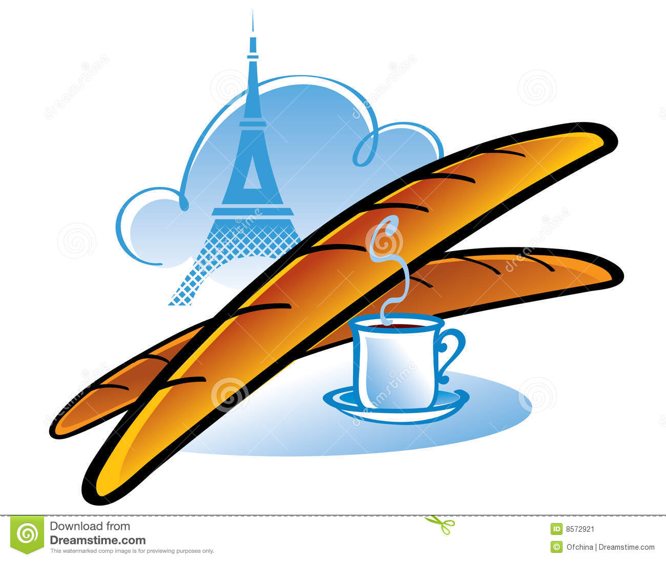 French Baguette Stock Image Image 8572921