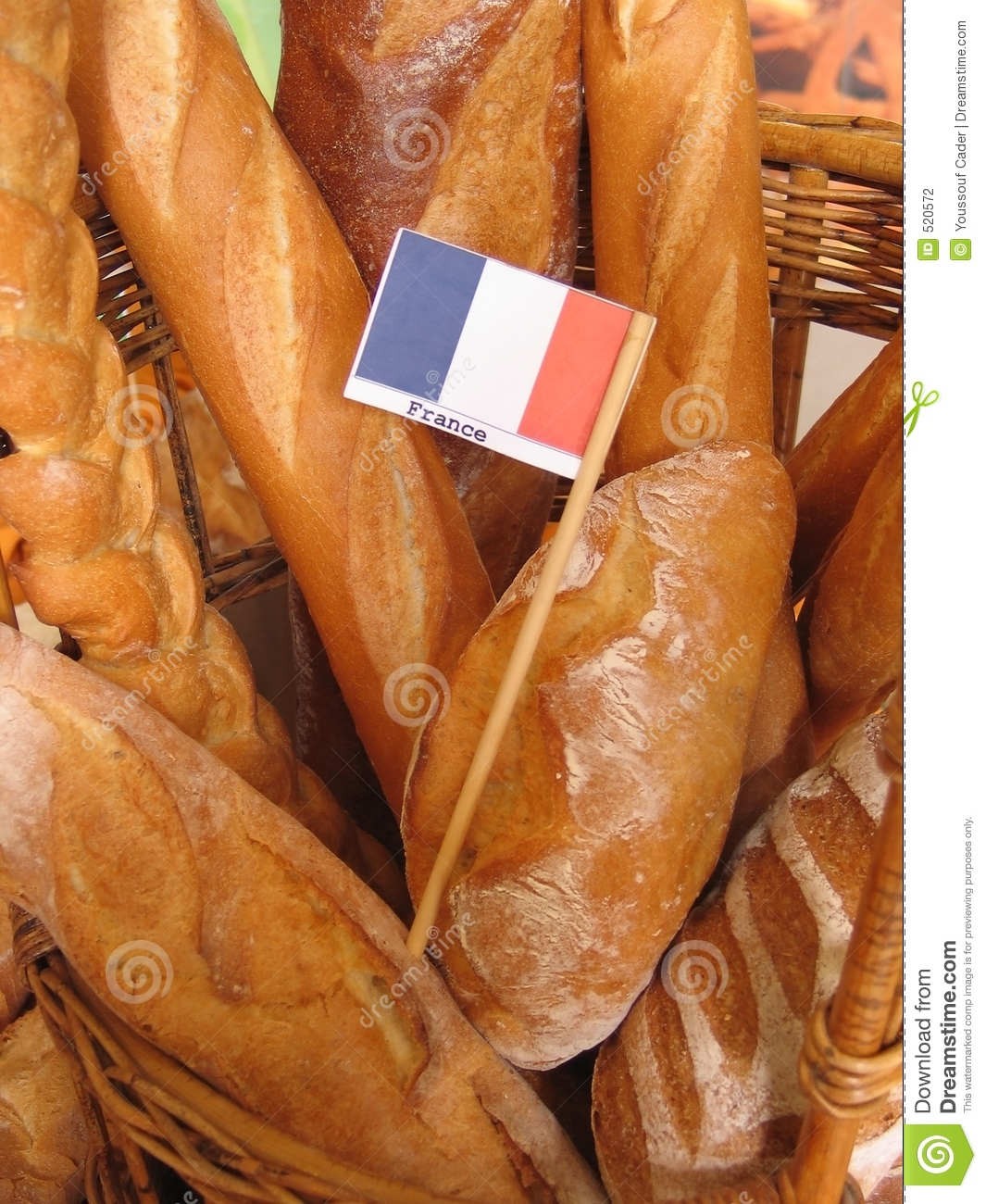 french baguettes stock photography   image 520572