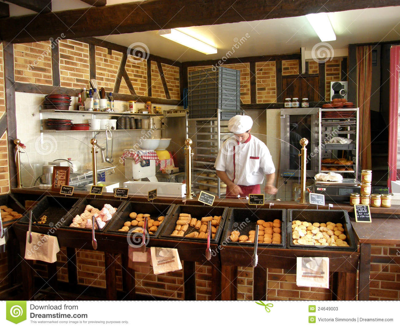French Bakery Editorial Stock Photo Image 24649003